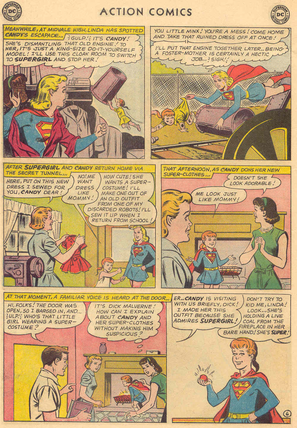 Read online Action Comics (1938) comic -  Issue #308 - 26