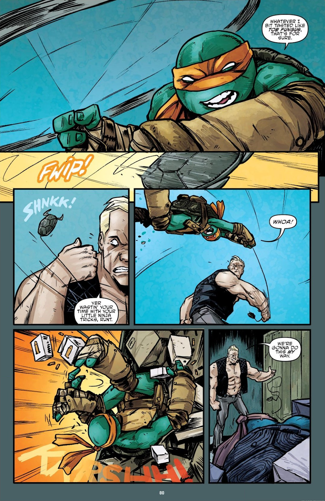Read online Teenage Mutant Ninja Turtles: The IDW Collection comic -  Issue # TPB 7 (Part 1) - 79