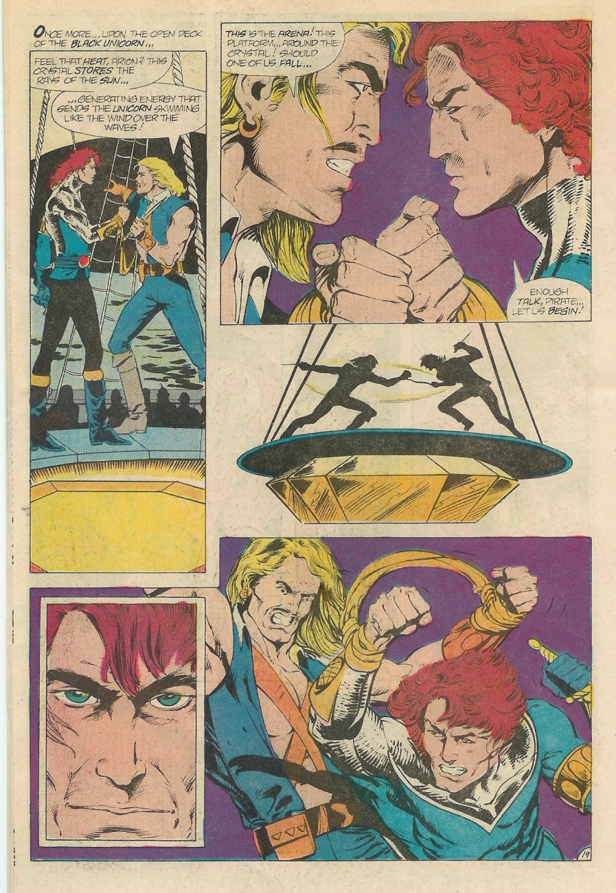 Read online Arion, Lord of Atlantis comic -  Issue #20 - 20