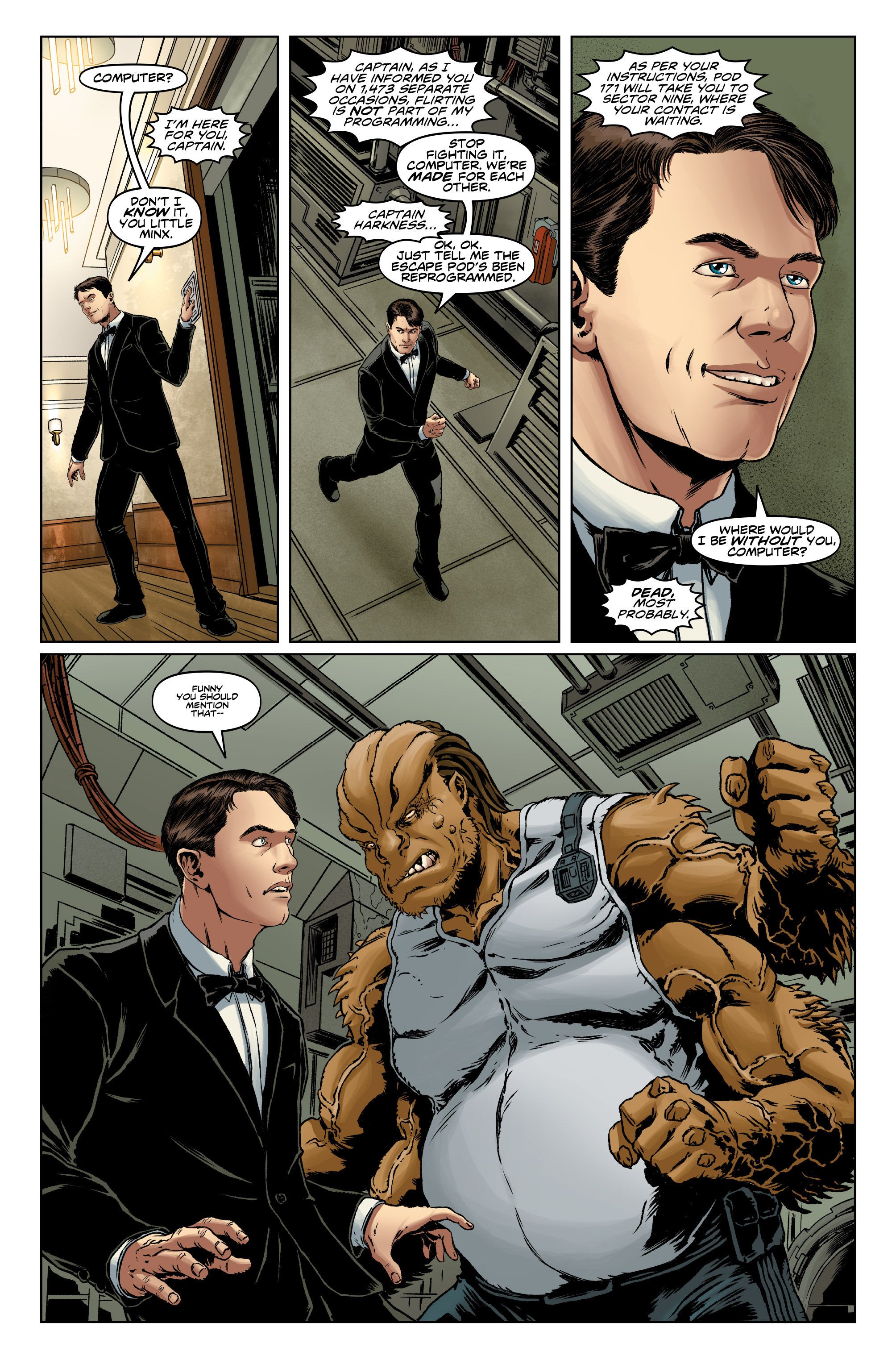 Read online Doctor Who: The Ninth Doctor (2016) comic -  Issue #13 - 7
