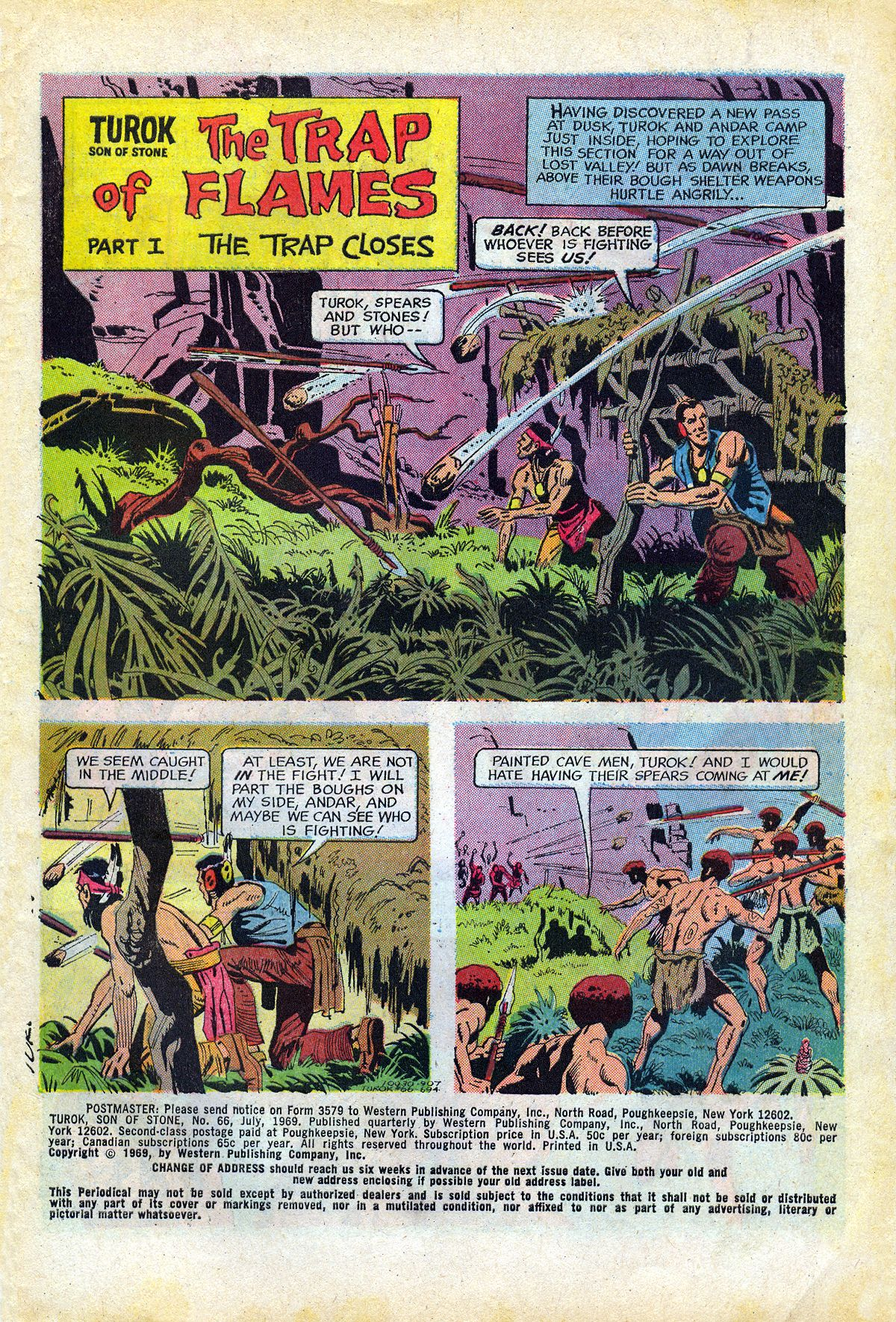 Read online Turok, Son of Stone comic -  Issue #66 - 3