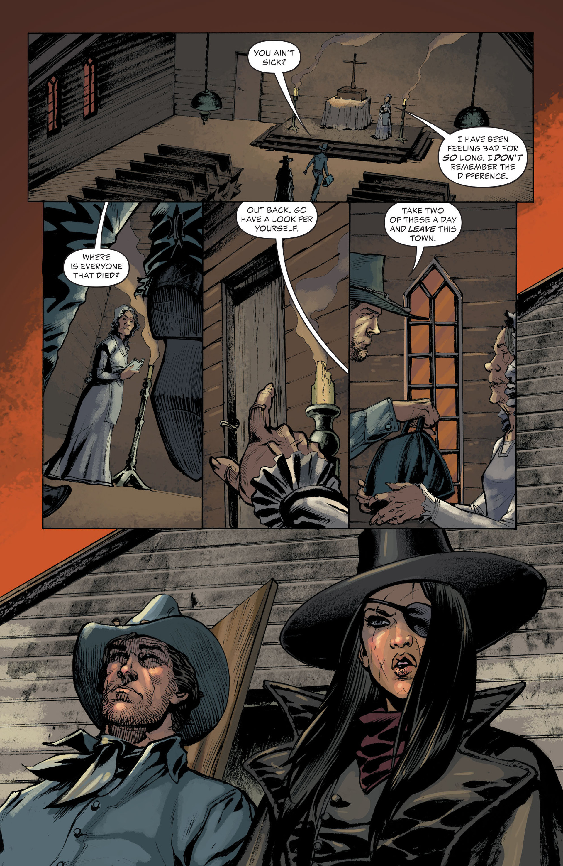 Read online All-Star Western (2011) comic -  Issue #33 - 20