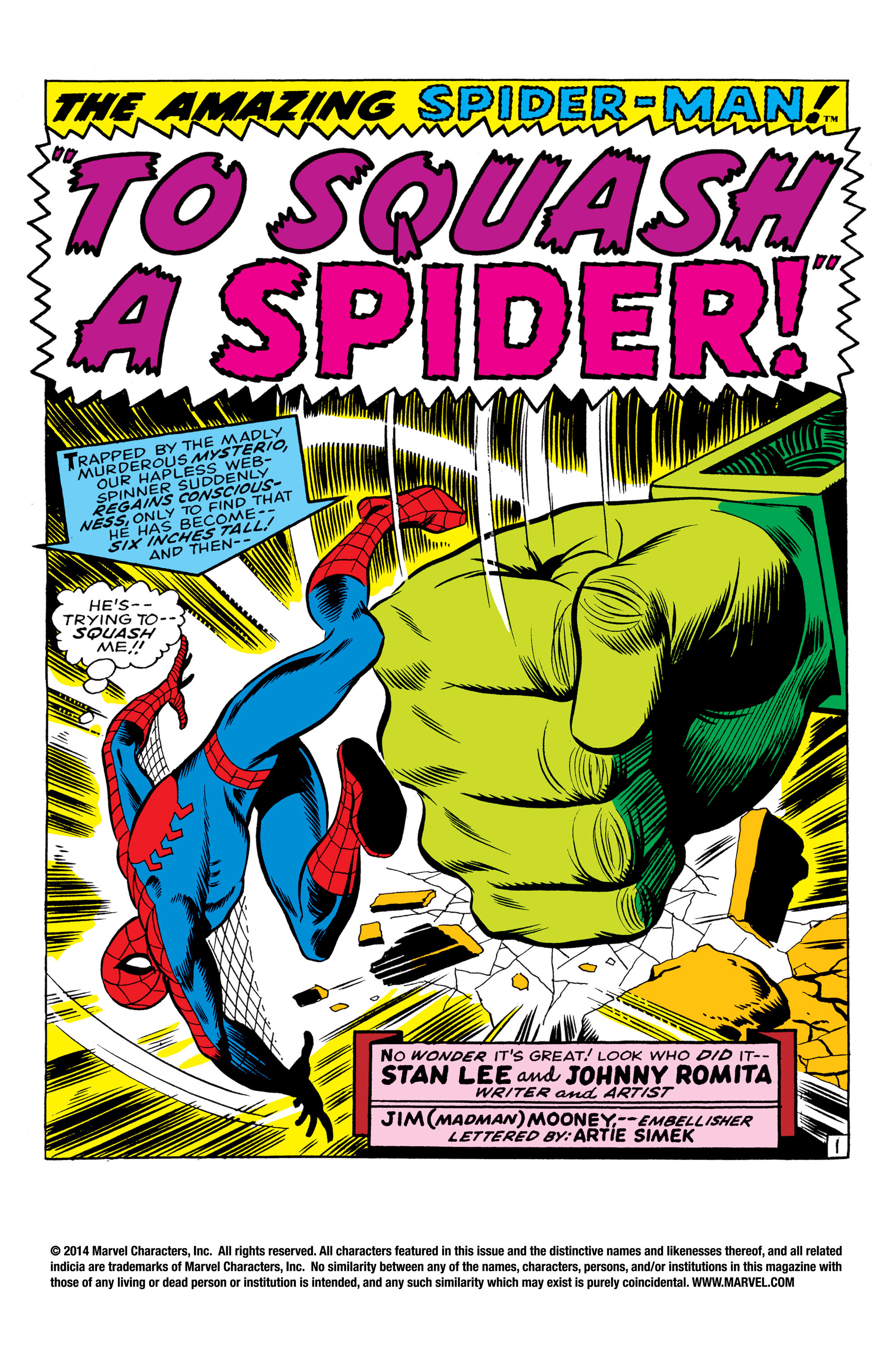 The Amazing Spider-Man (1963) 67 Page 1