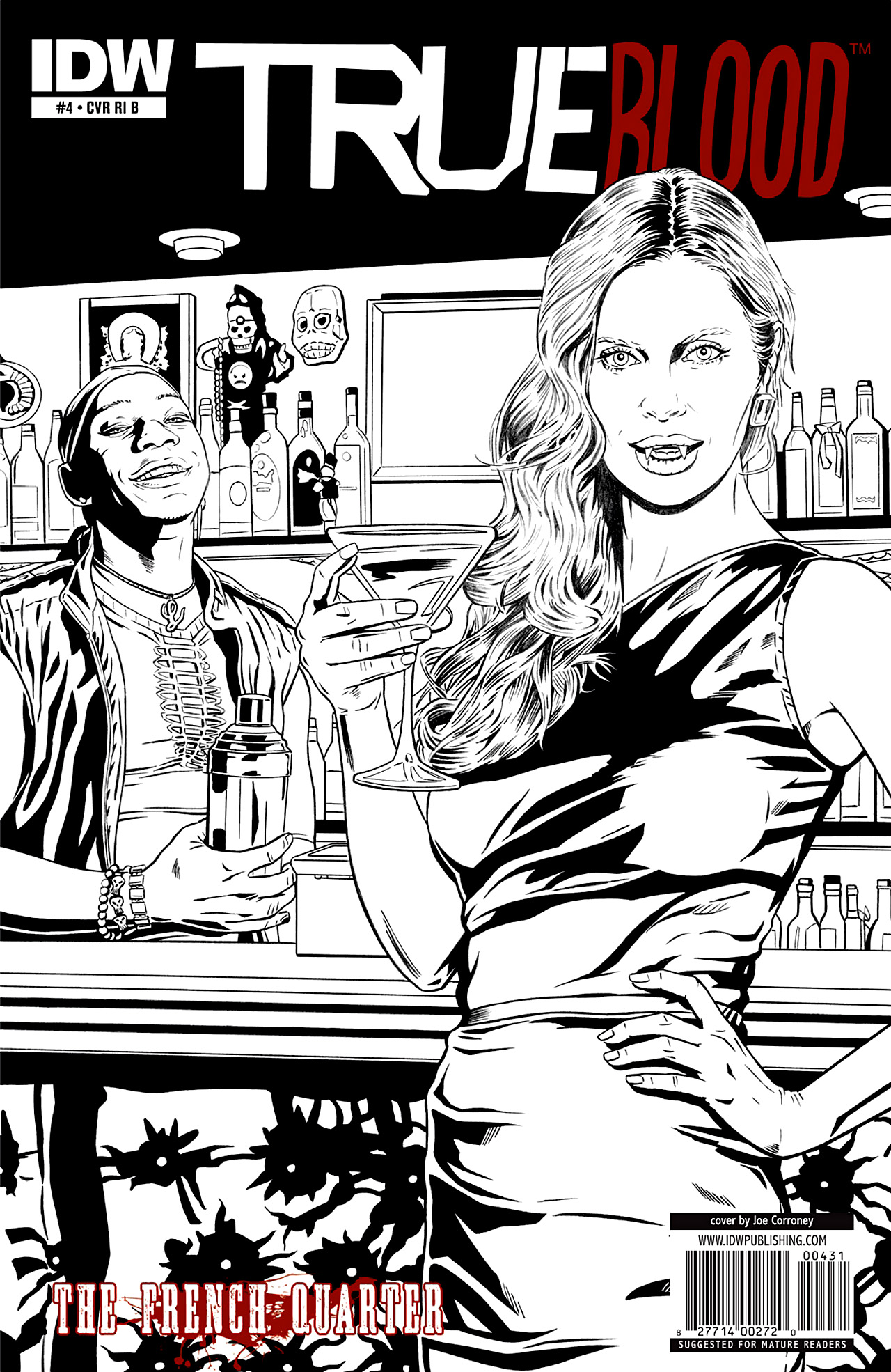 Read online True Blood: French Quarter comic -  Issue #4 - 4