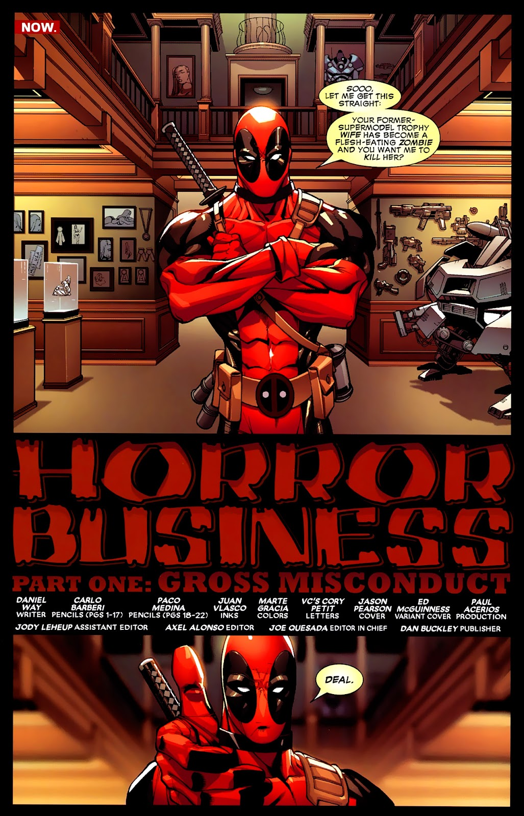 Read online Deadpool (2008) comic -  Issue #4 - 3