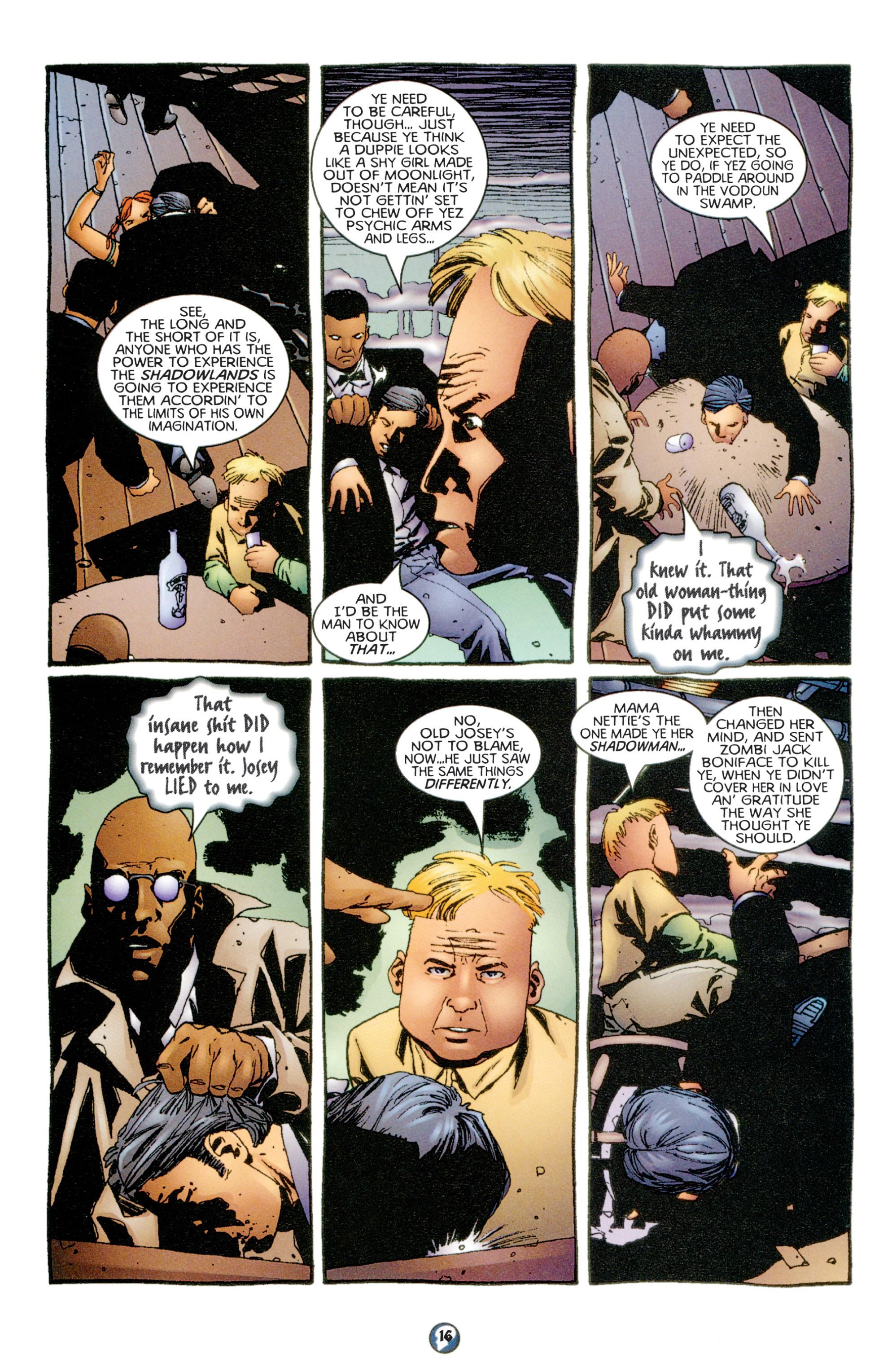 Read online Shadowman (1997) comic -  Issue #6 - 13