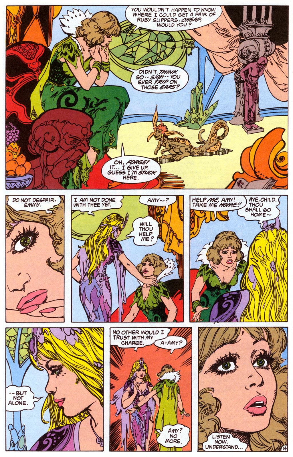 Read online Amethyst (1987) comic -  Issue #4 - 16