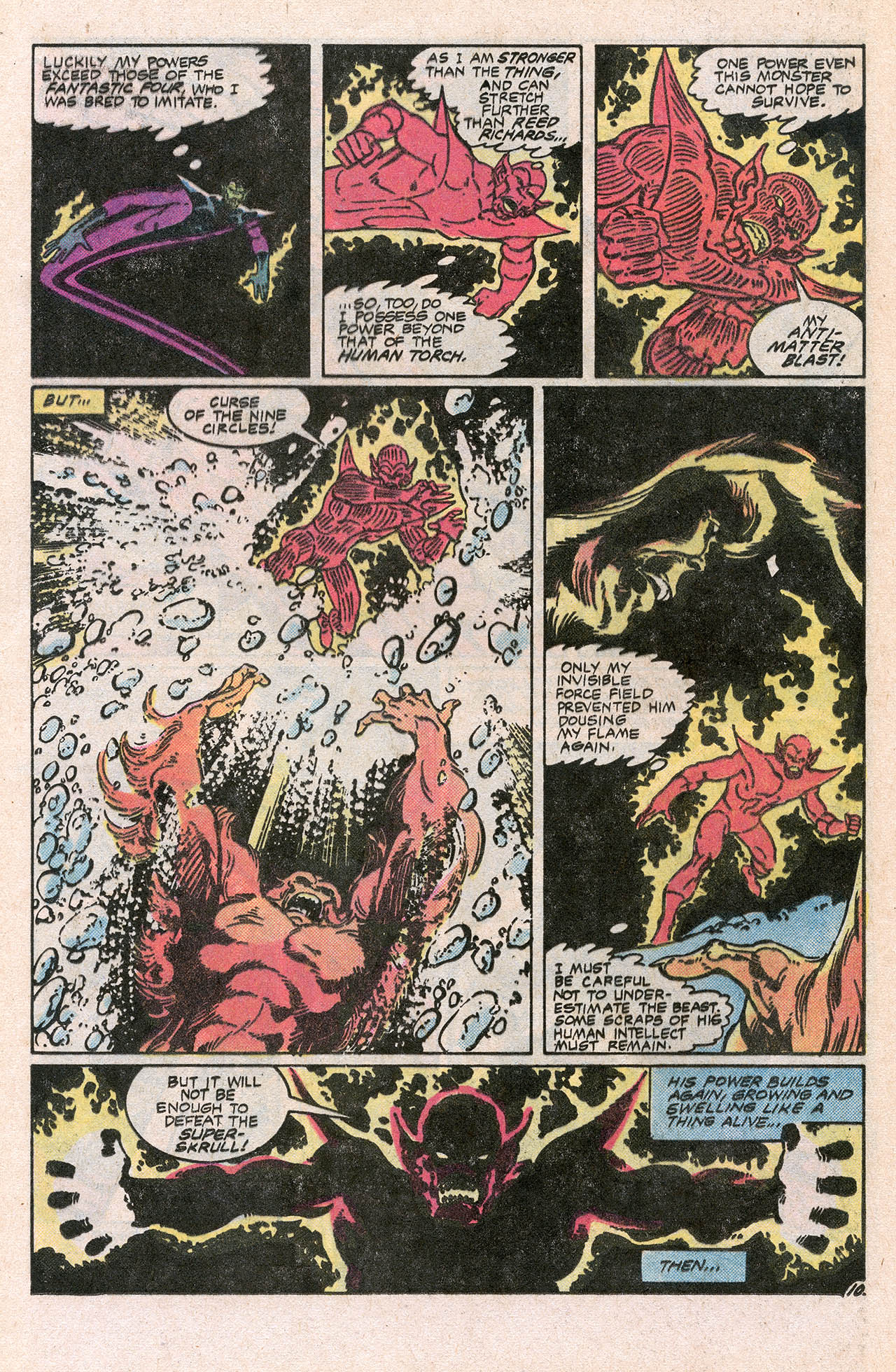 Read online Alpha Flight (1983) comic -  Issue #10 - 16