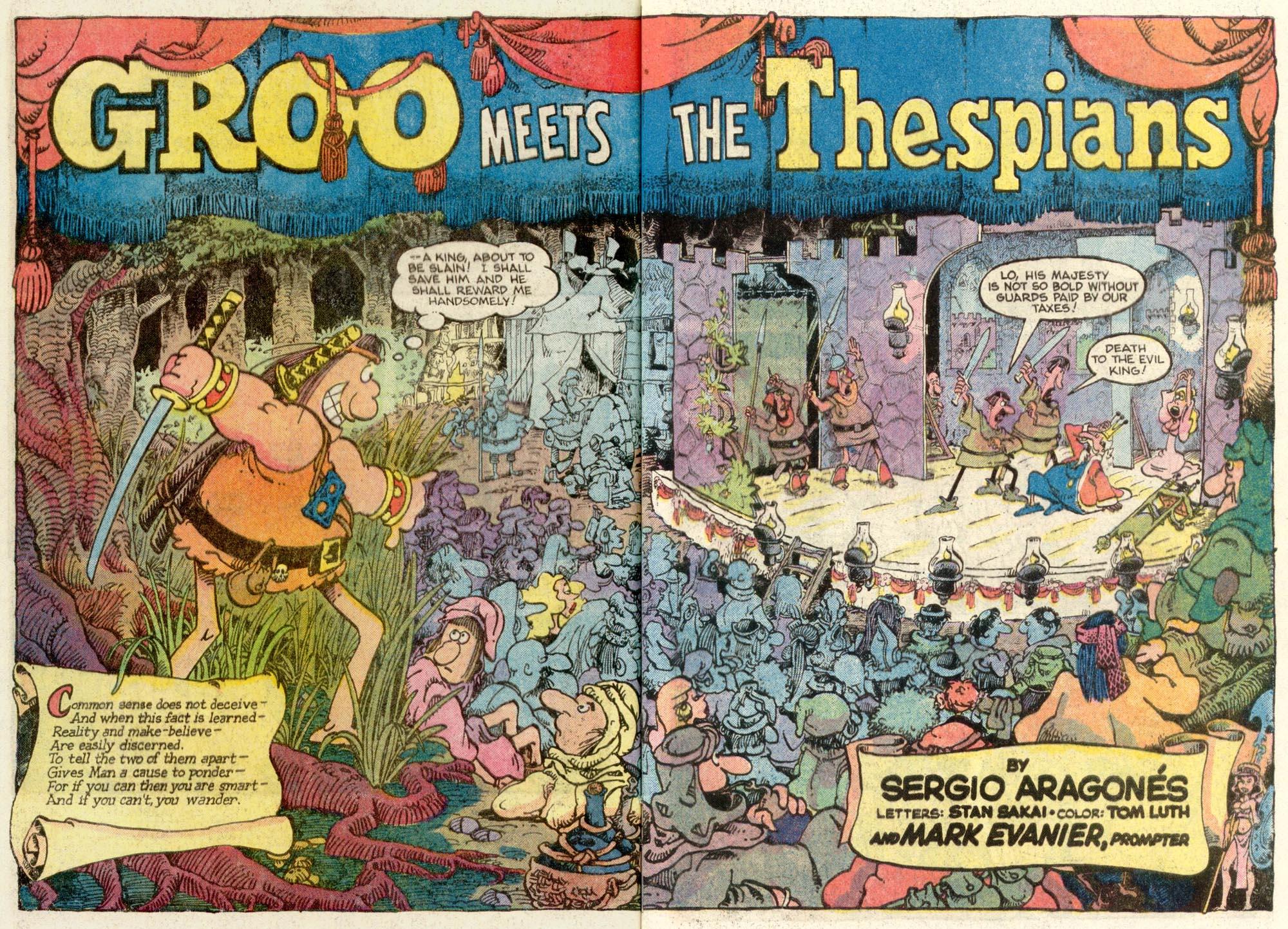 Read online Sergio Aragonés Groo the Wanderer comic -  Issue #12 - 3