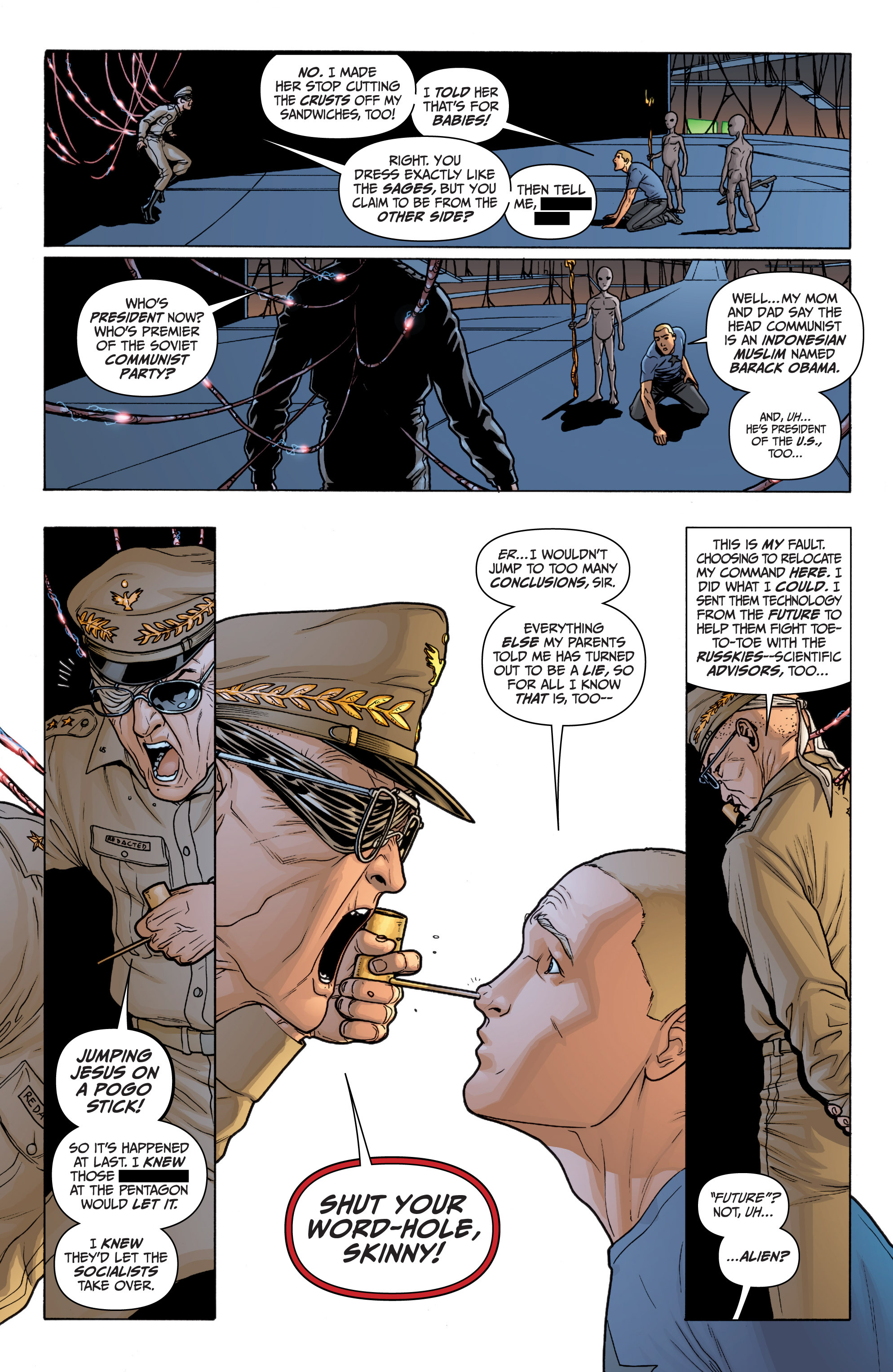 Read online Archer and Armstrong comic -  Issue #11 - 13