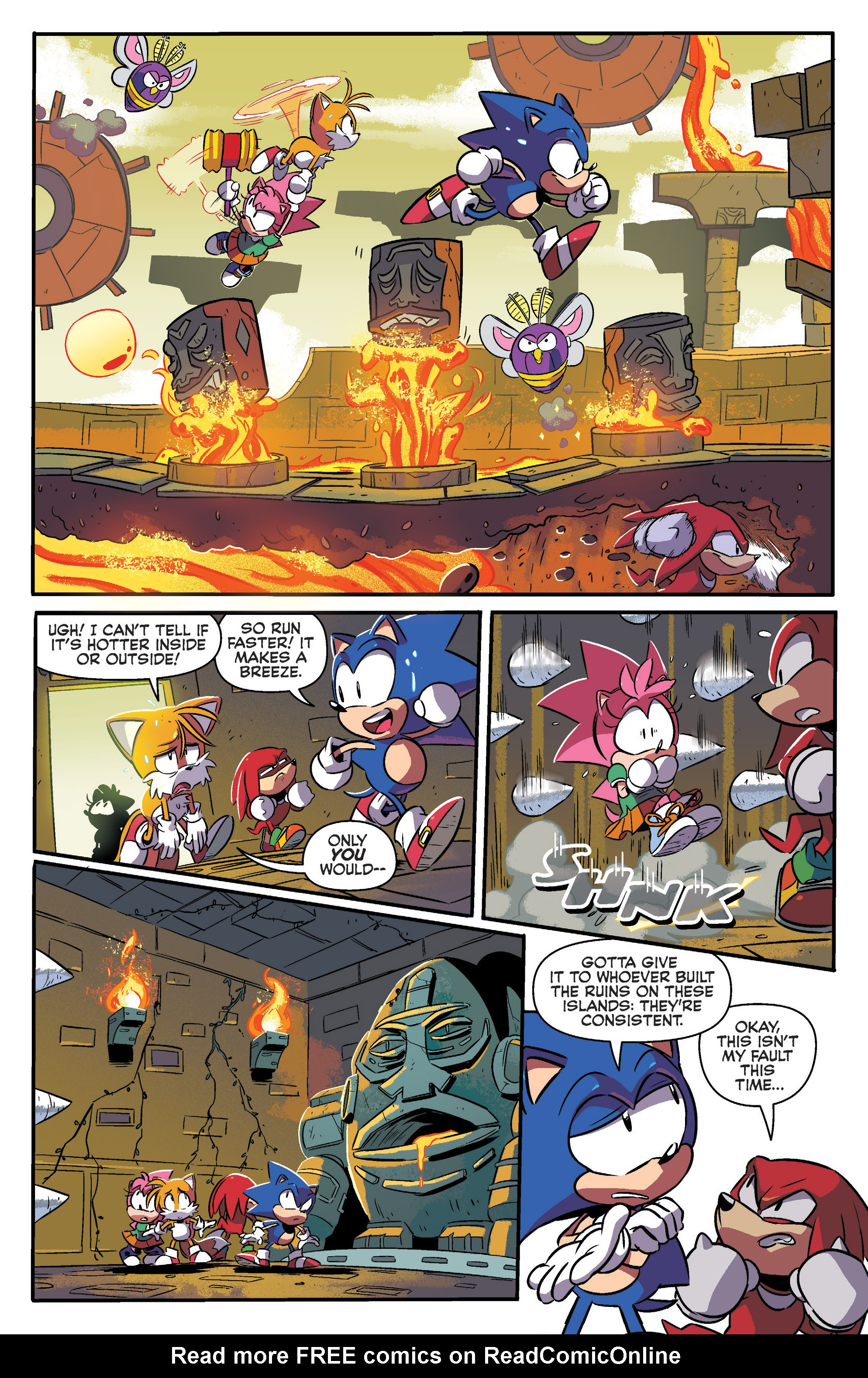 Read online Sonic Mega Drive: Next Level comic -  Issue # Full - 18