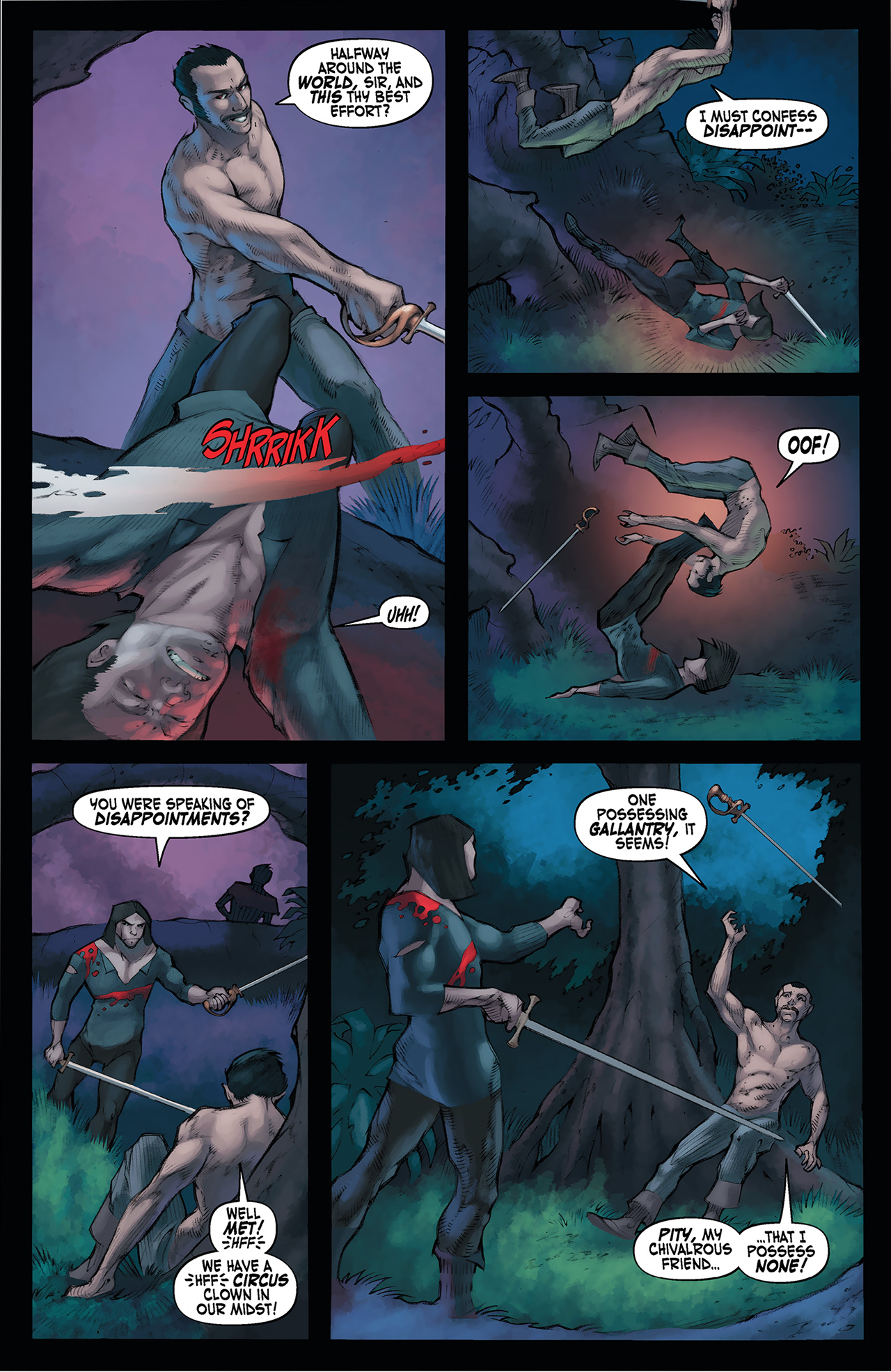 Read online Solomon Kane: Red Shadows comic -  Issue #4 - 17