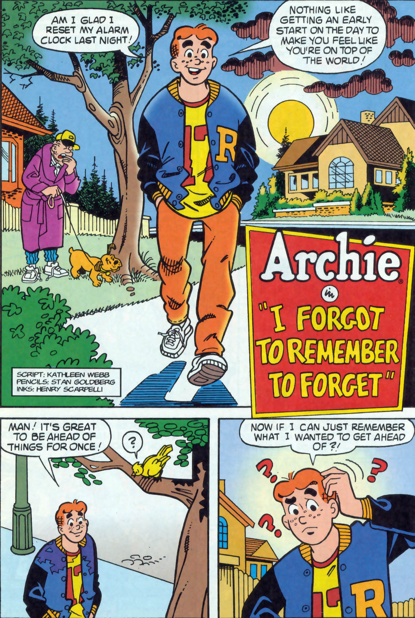 Read online Archie (1960) comic -  Issue #471 - 20