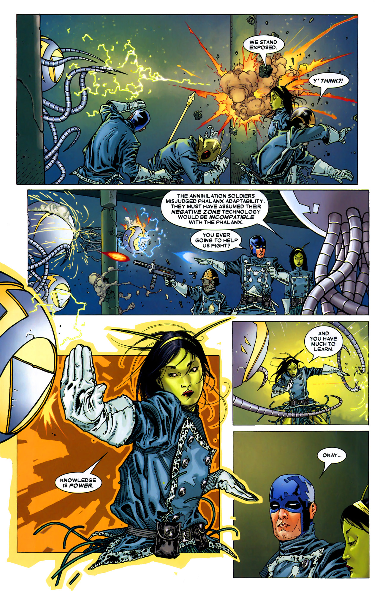 Read online Annihilation: Conquest - Starlord comic -  Issue #2 - 15
