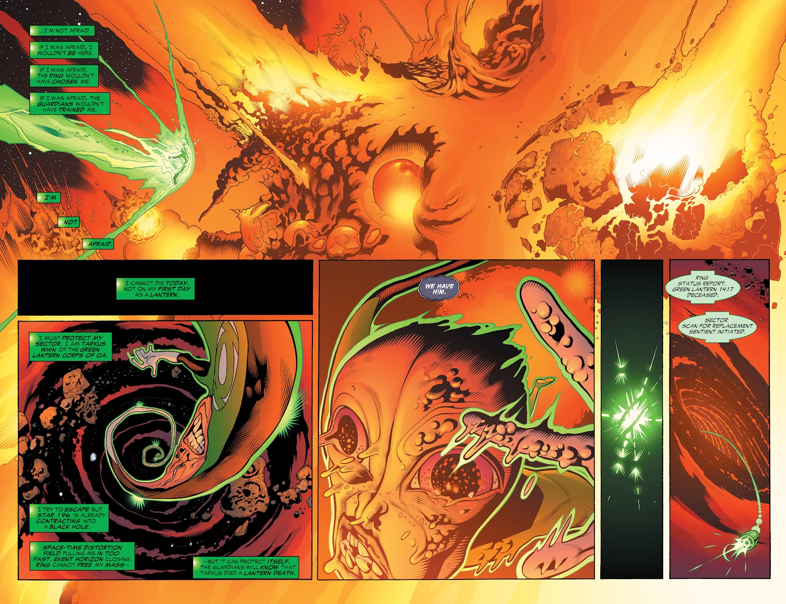 Read online Green Lantern by Geoff Johns comic -  Issue # TPB 1 (Part 2) - 80