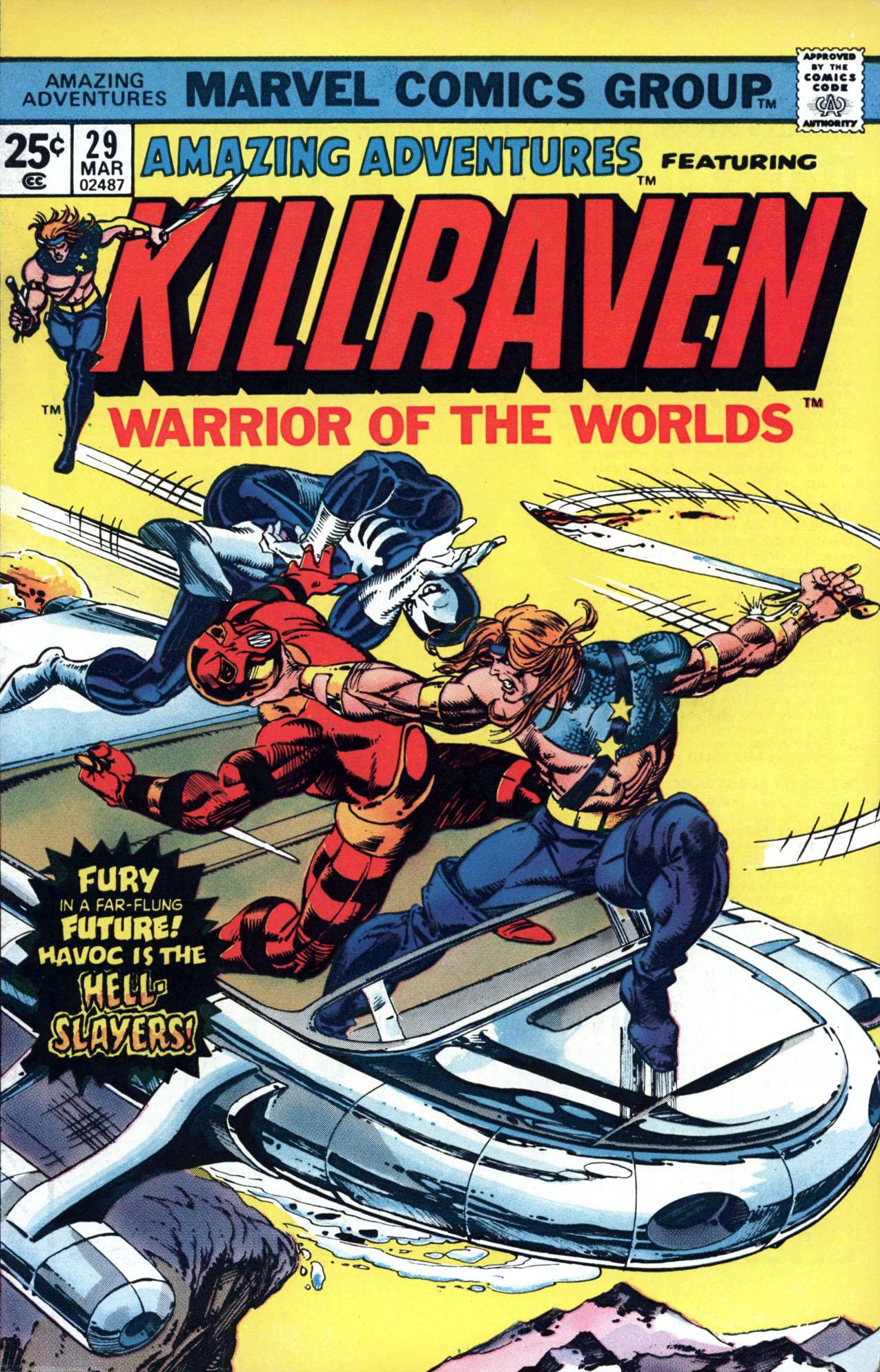 Read online Amazing Adventures (1970) comic -  Issue #29 - 1