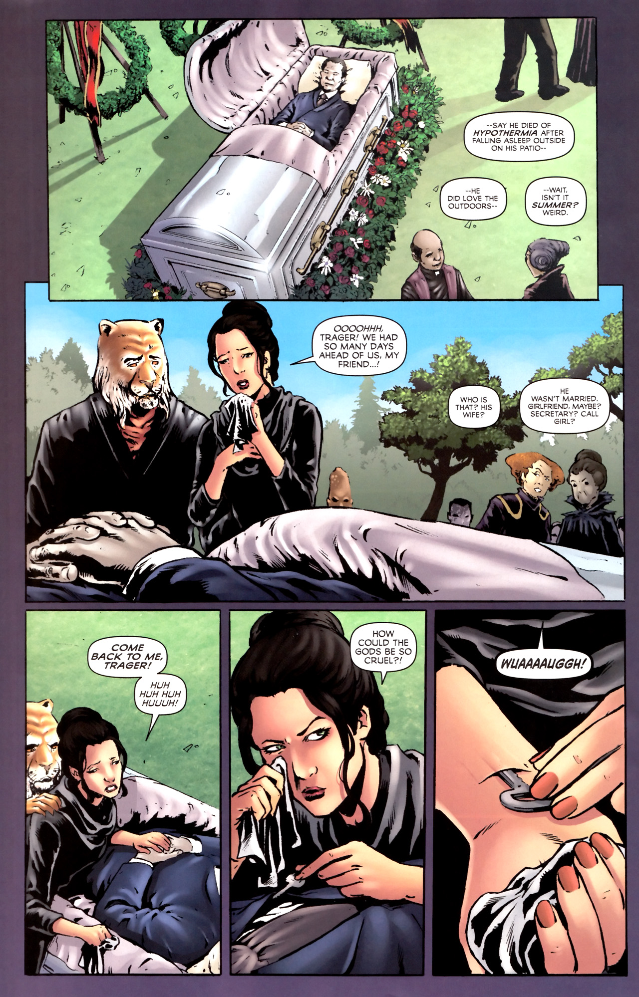 Read online Stargate Vala Mal Doran comic -  Issue #2 - 20
