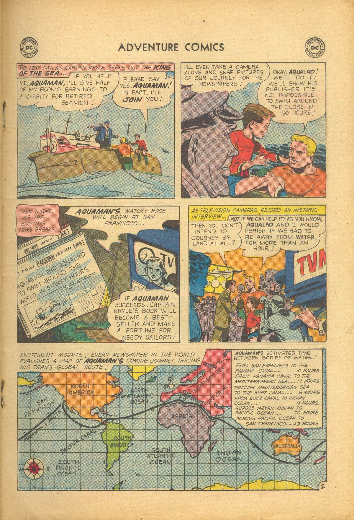 Read online Adventure Comics (1938) comic -  Issue #273 - 19