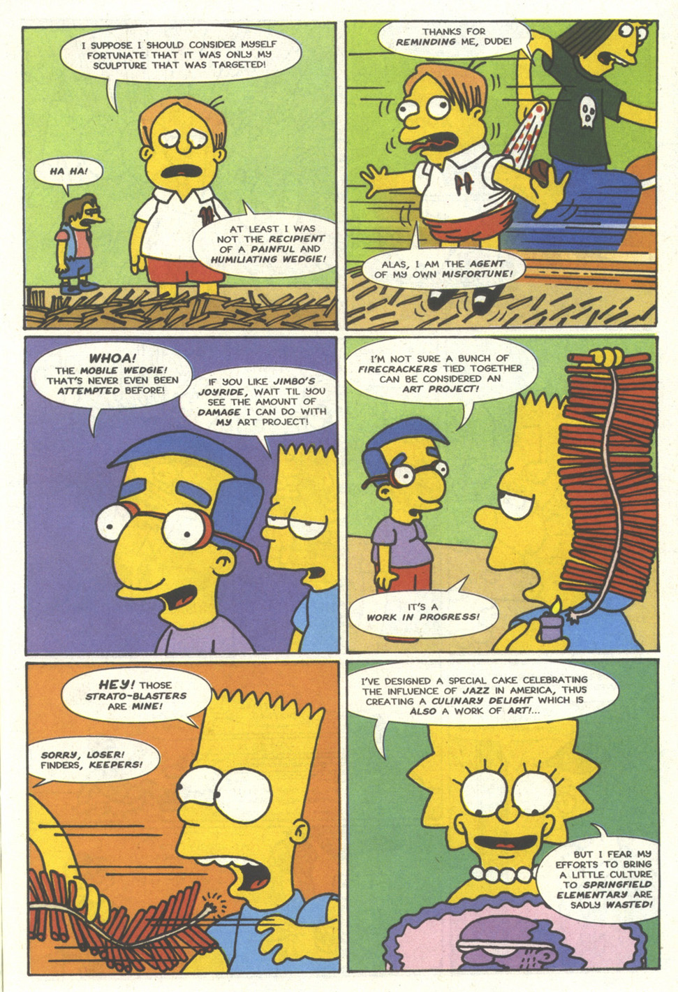 Read online Simpsons Comics comic -  Issue #13 - 29