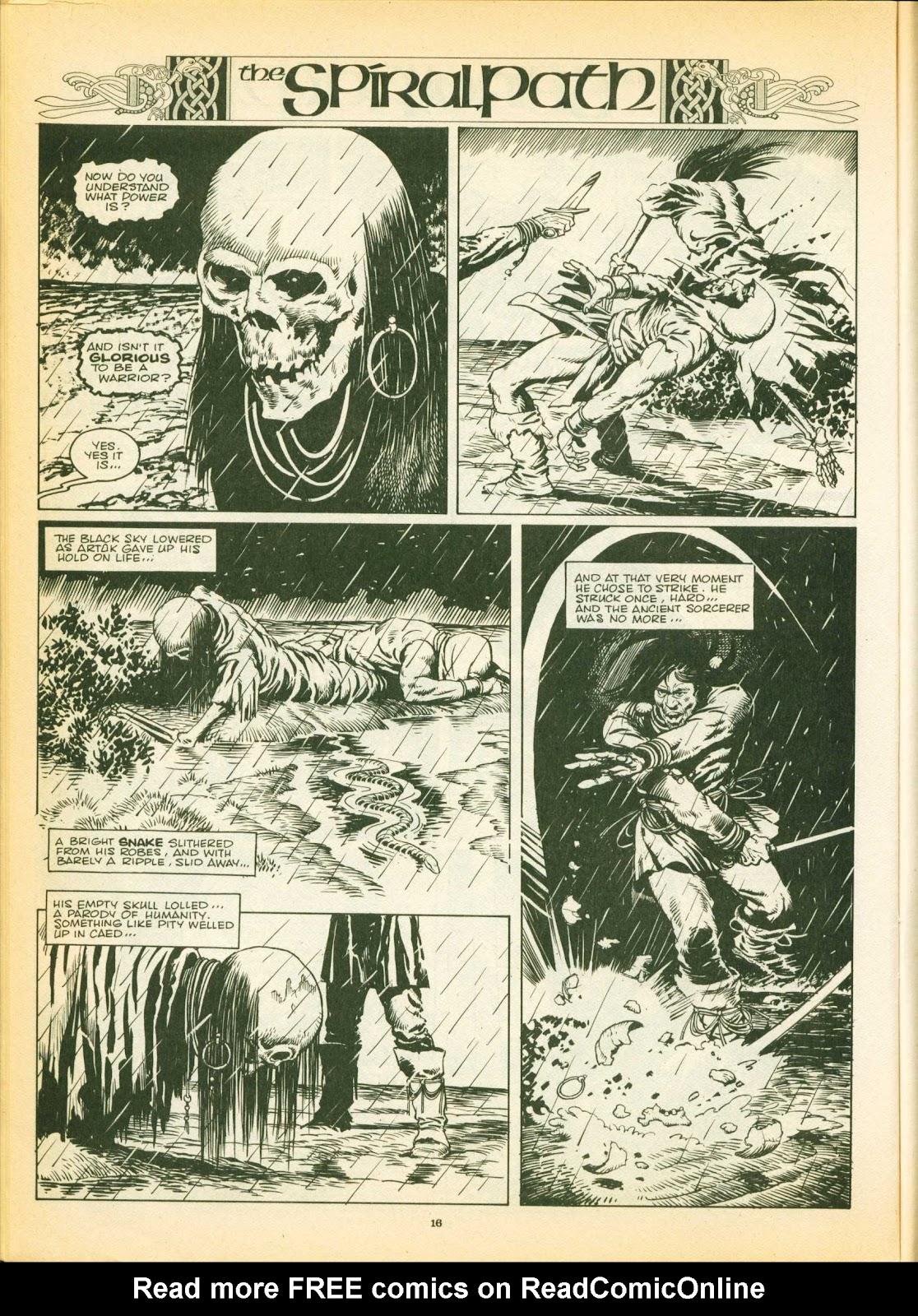 Warrior Issue #12 #13 - English 16