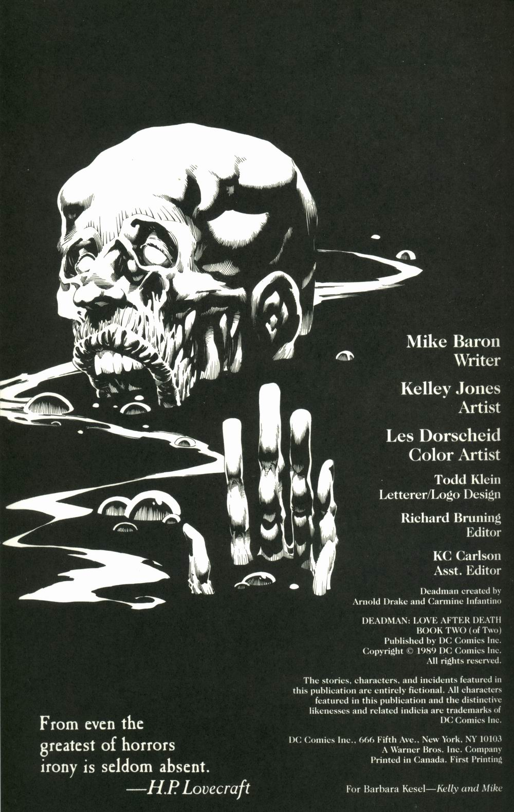 Read online Deadman: Love After Death comic -  Issue #2 - 2