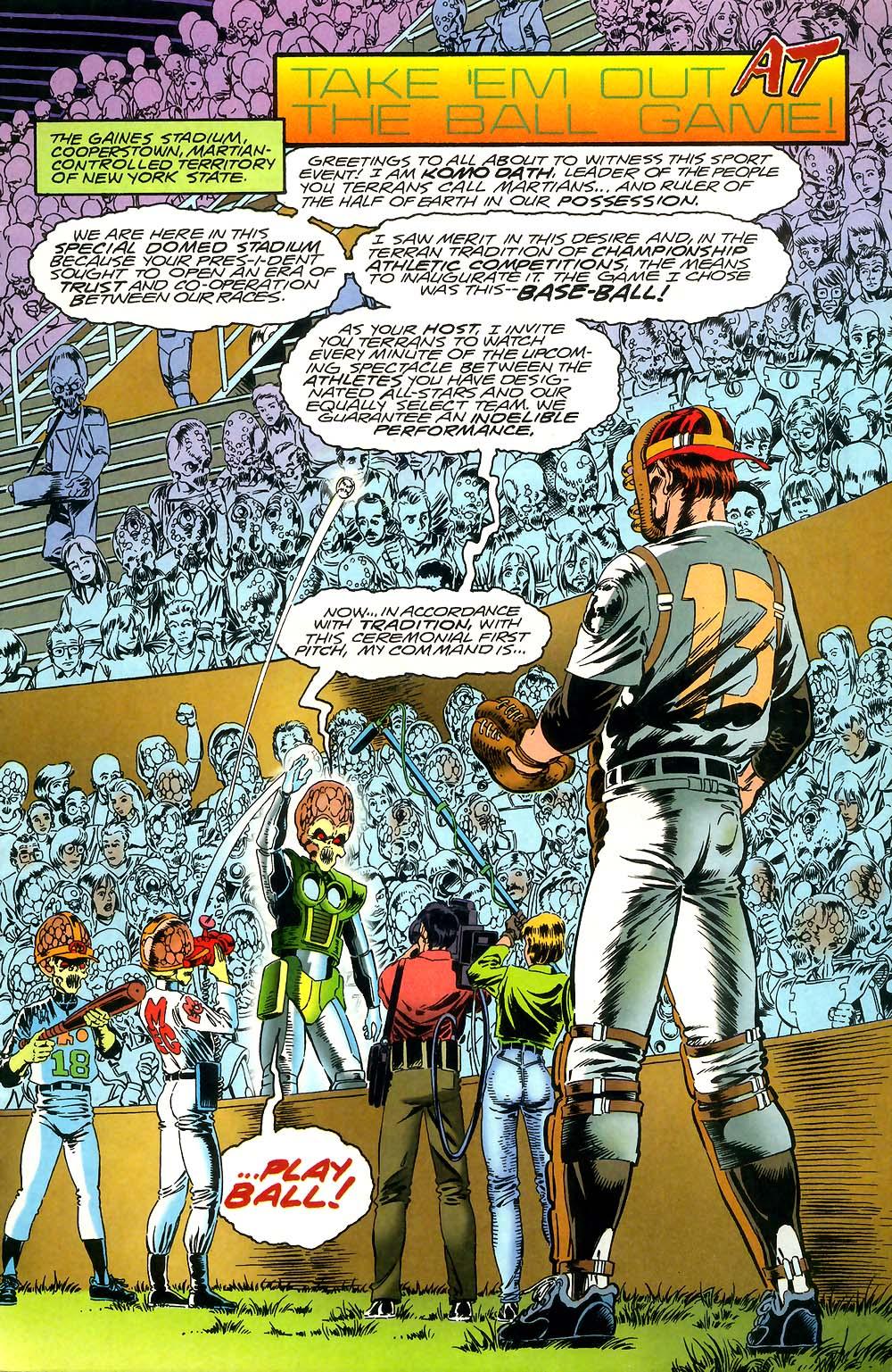 Read online Mars Attacks Baseball Special comic -  Issue # Full - 3