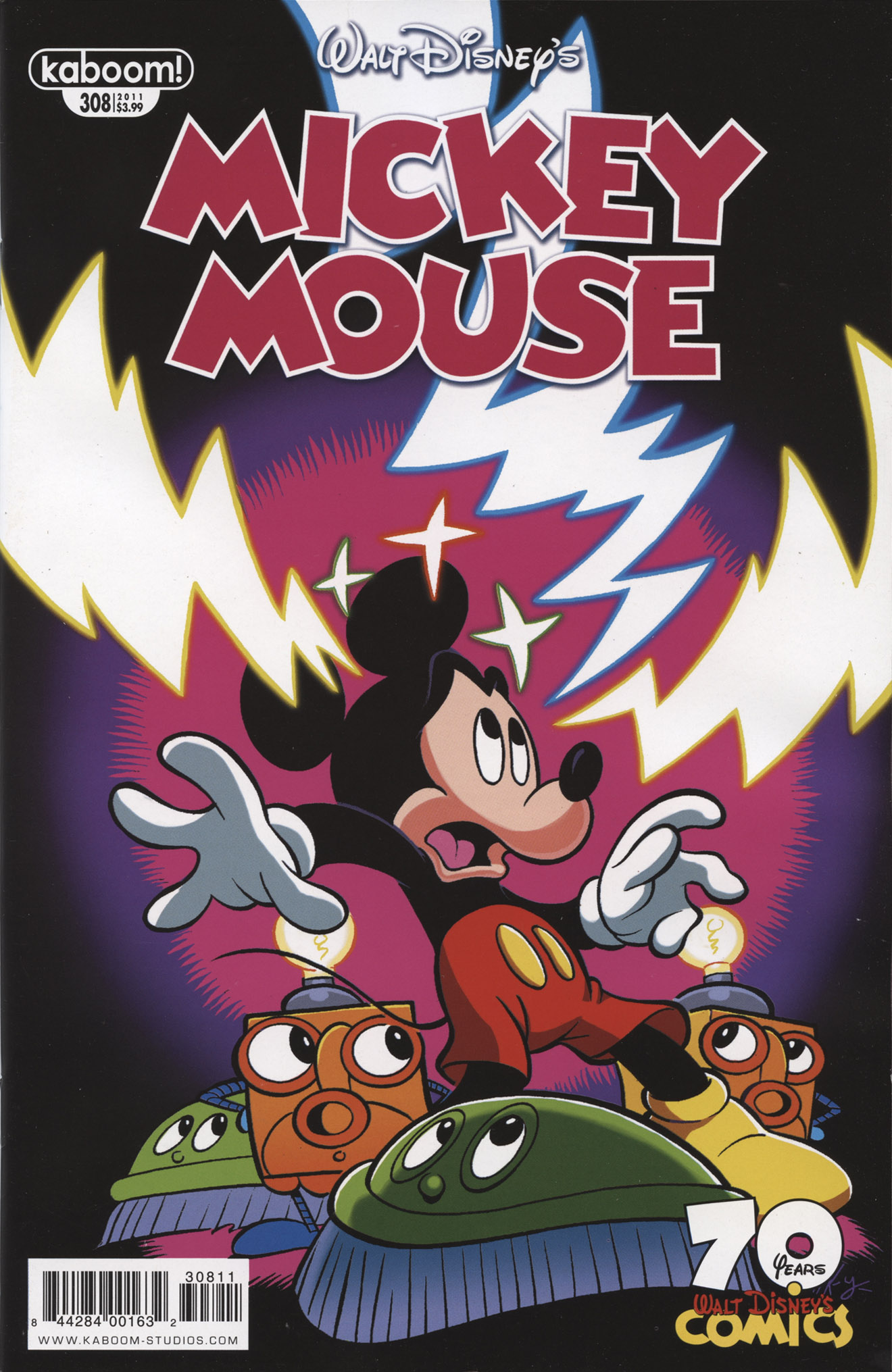 Read online Mickey Mouse (2011) comic -  Issue #308 - 1
