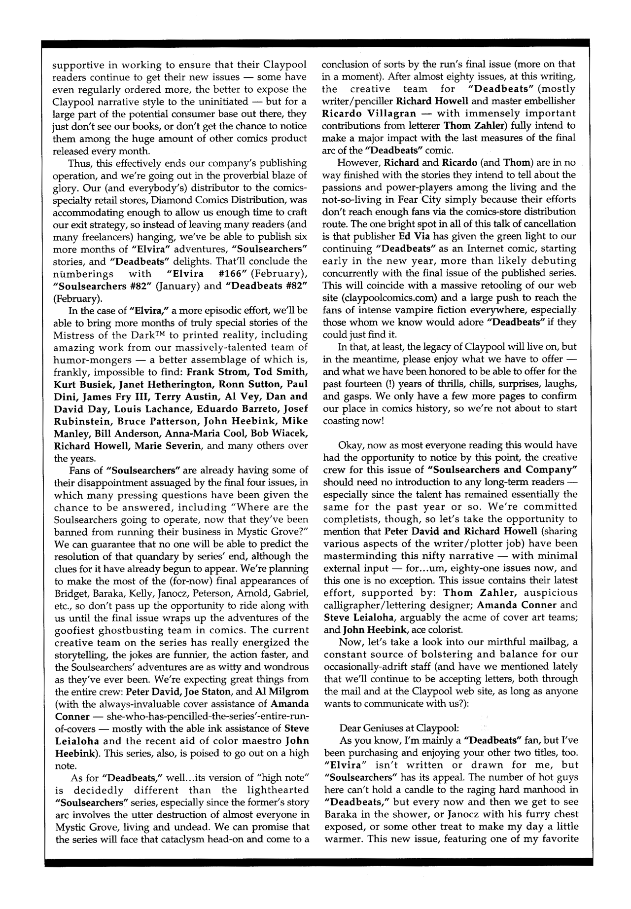 Soulsearchers and Company issue 82 - Page 30