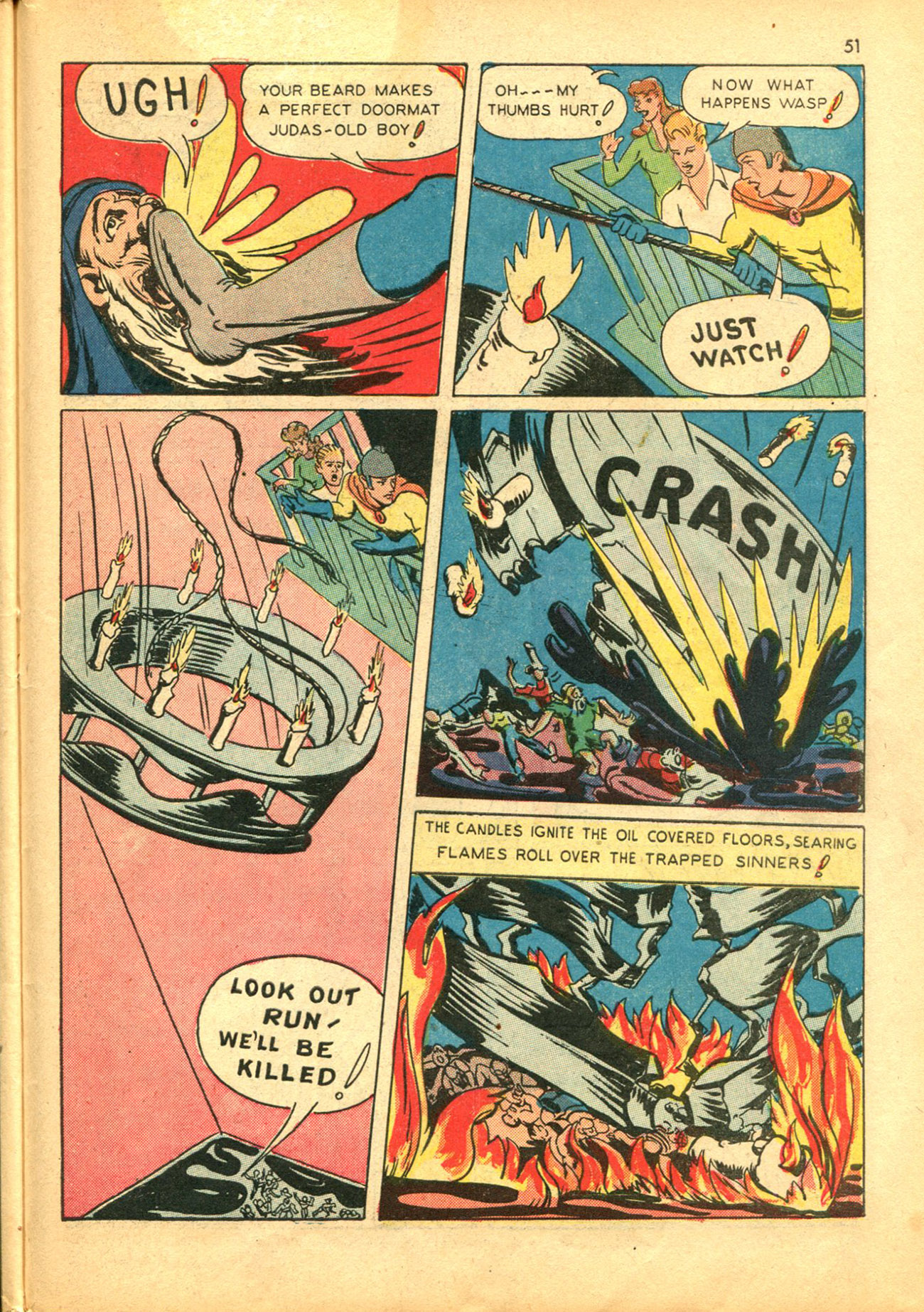 Read online Shadow Comics comic -  Issue #30 - 51