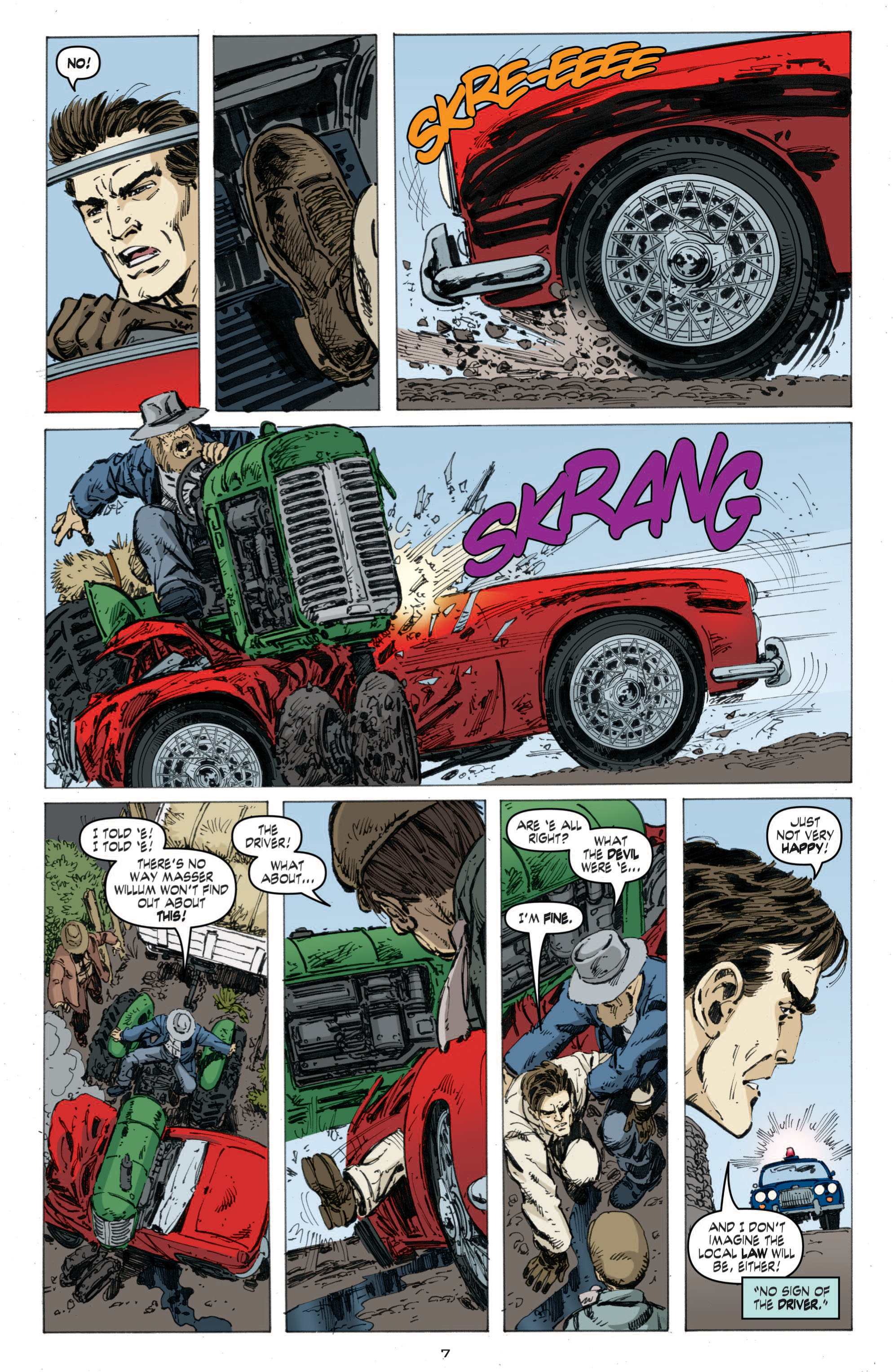 Read online Cold War comic -  Issue # TPB - 65