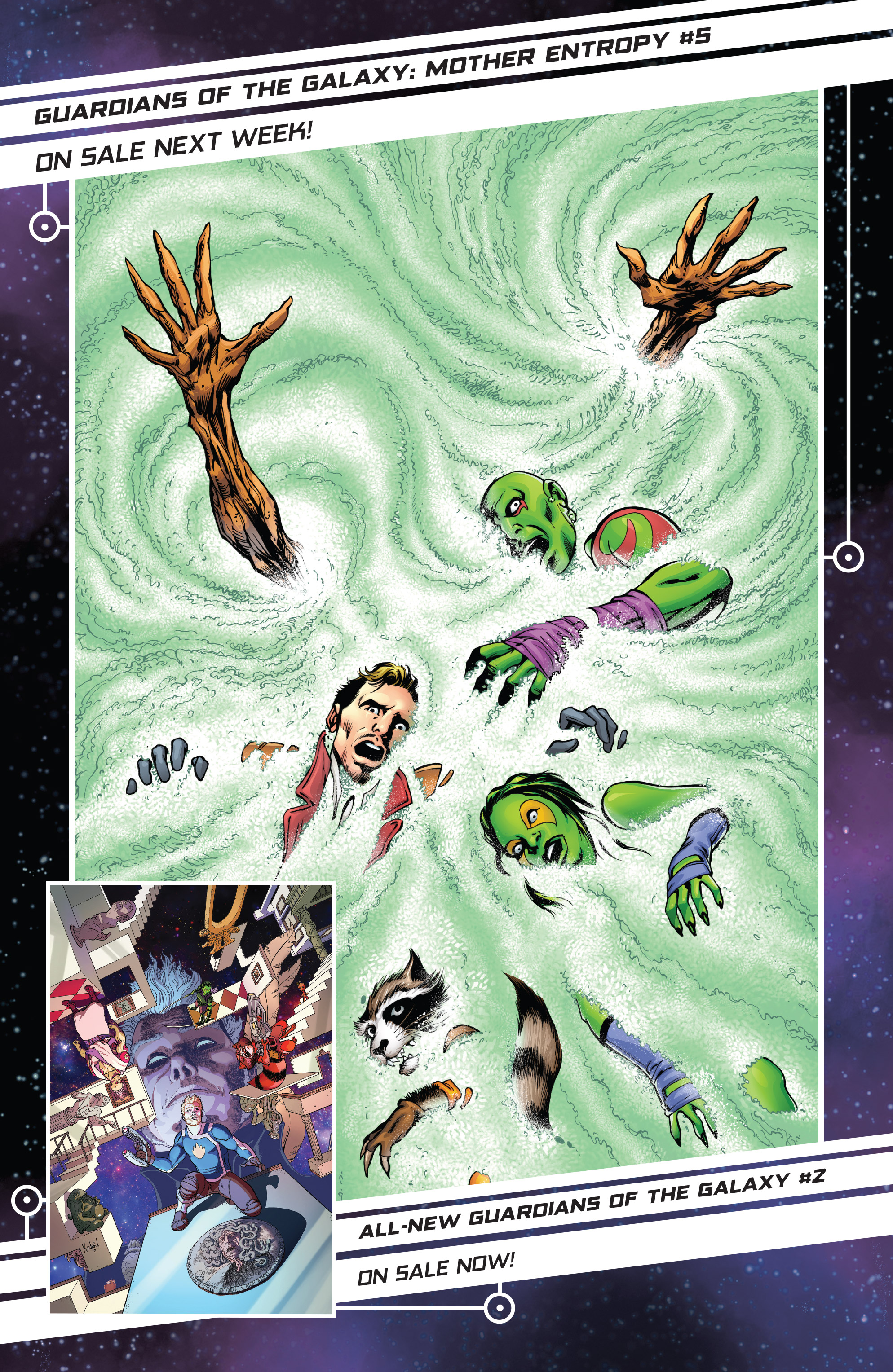 Read online Guardians of the Galaxy: Mother Entropy comic -  Issue #4 - 23