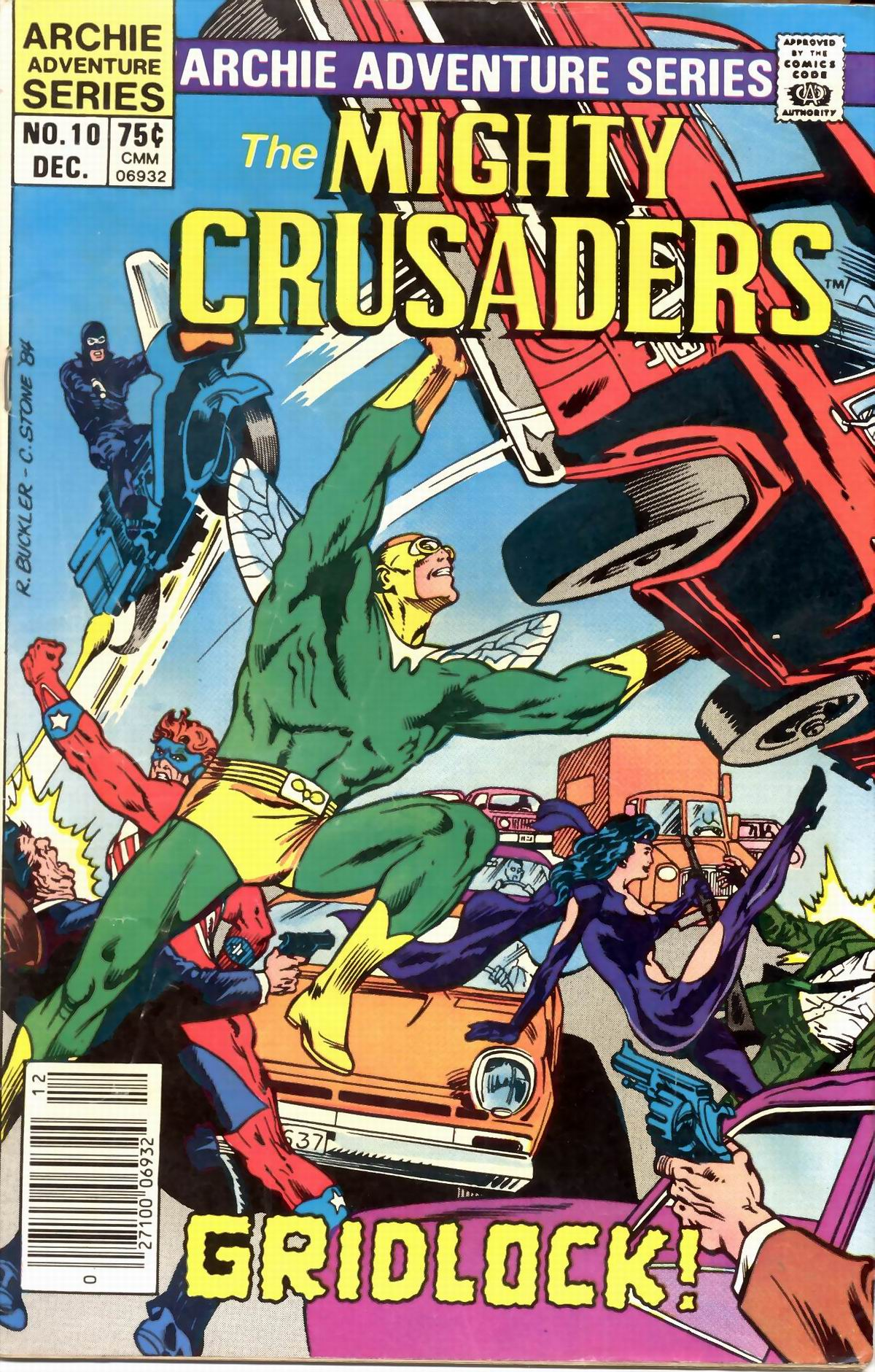 The All New Adventures of the Mighty Crusaders 10 Page 1