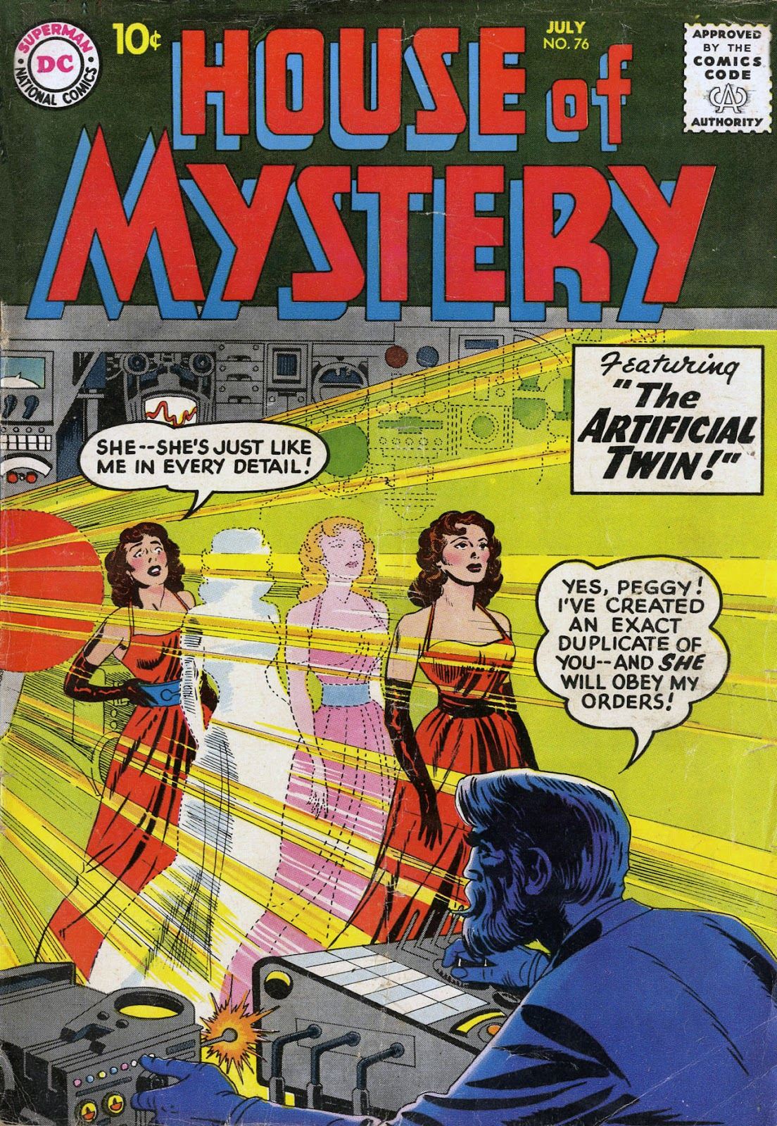House of Mystery (1951) issue 76 - Page 1