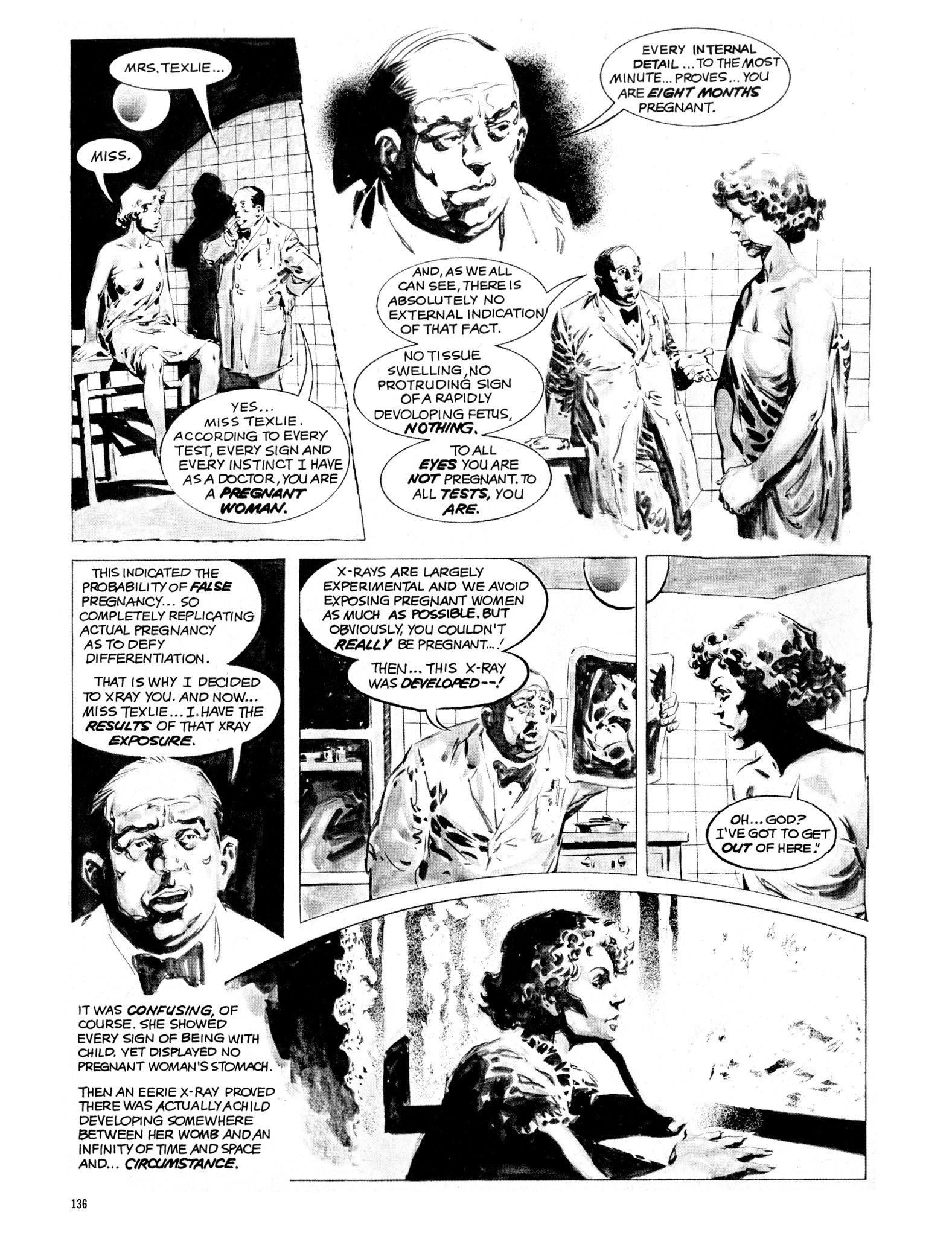 Read online Eerie Archives comic -  Issue # TPB 16 - 137