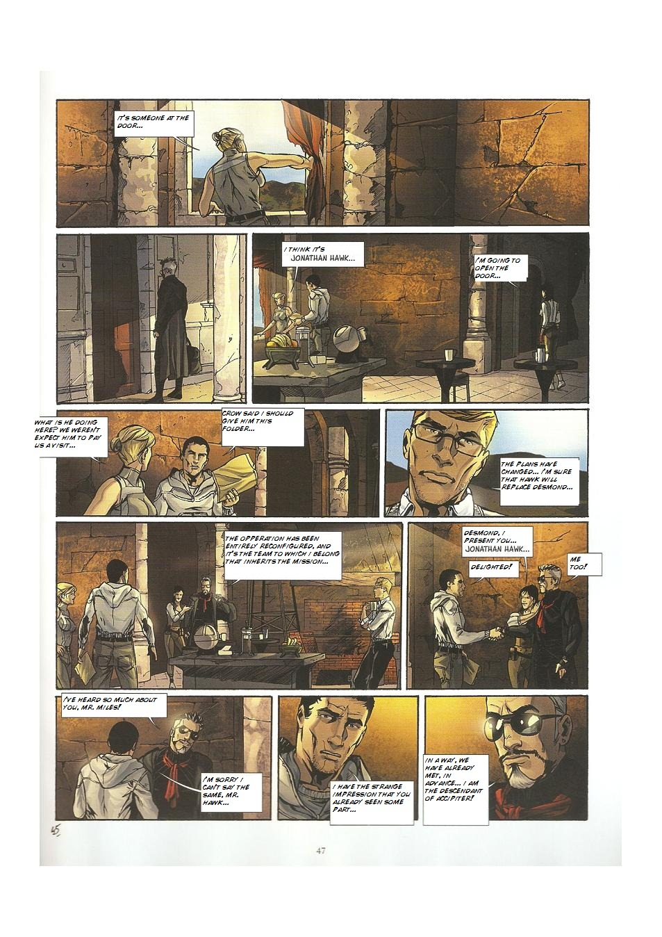 Read online Assassin's Creed (2009) comic -  Issue #3 - 47