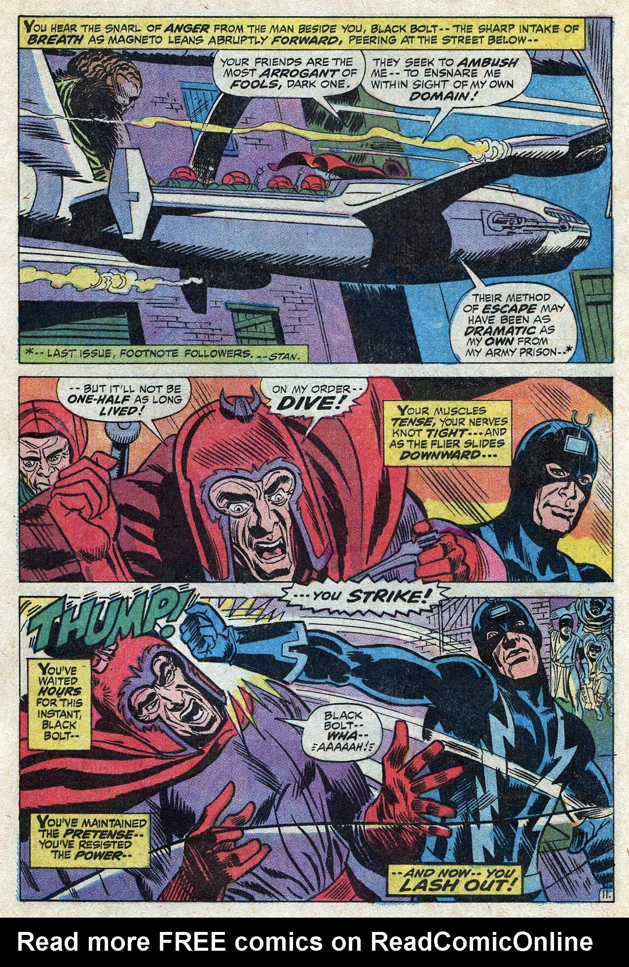 Read online Amazing Adventures (1970) comic -  Issue #10 - 17