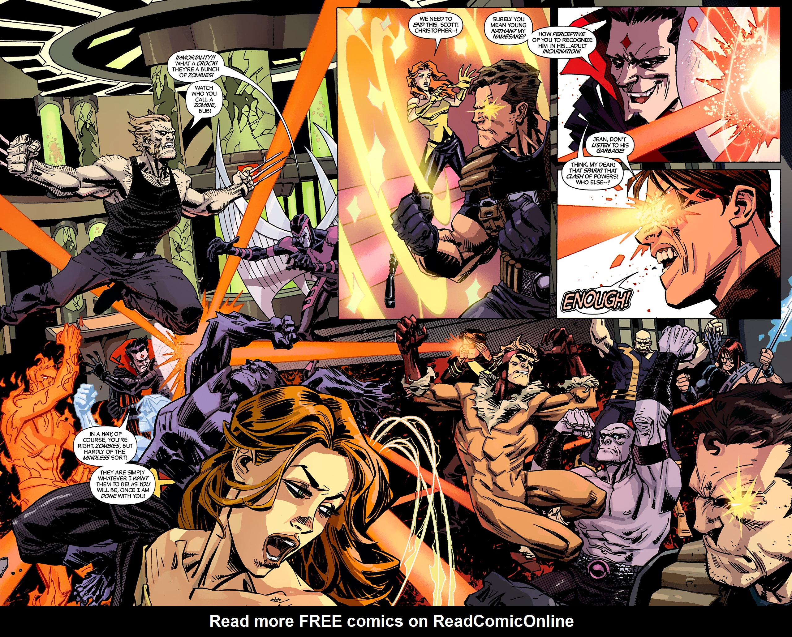 Read online X-Factor Forever comic -  Issue #4 - 16