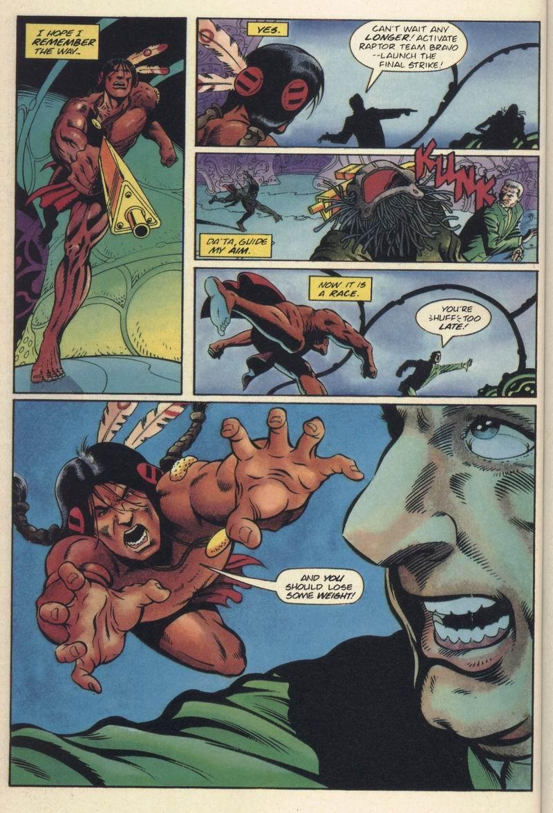 Read online Turok, Dinosaur Hunter (1993) comic -  Issue #19 - 17