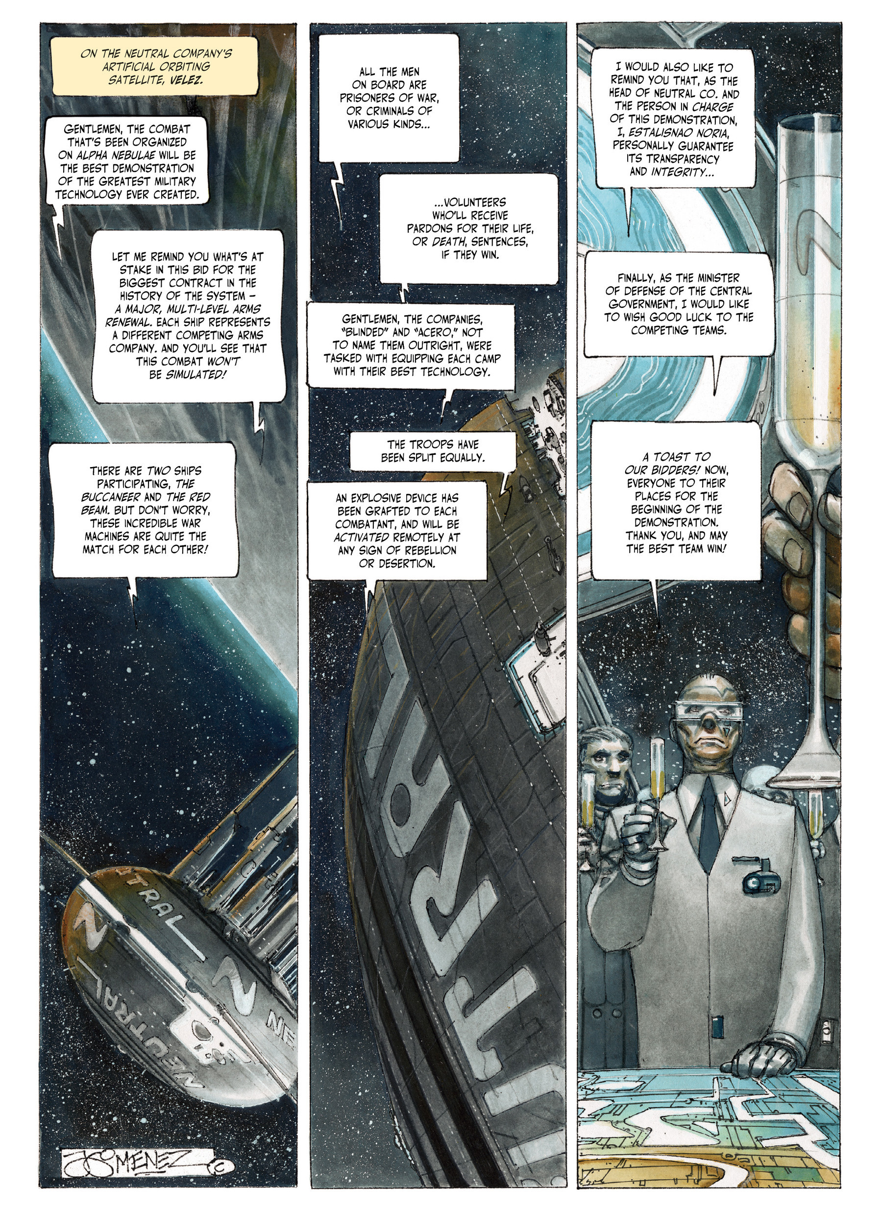 Read online The Fourth Power comic -  Issue #4 - 5