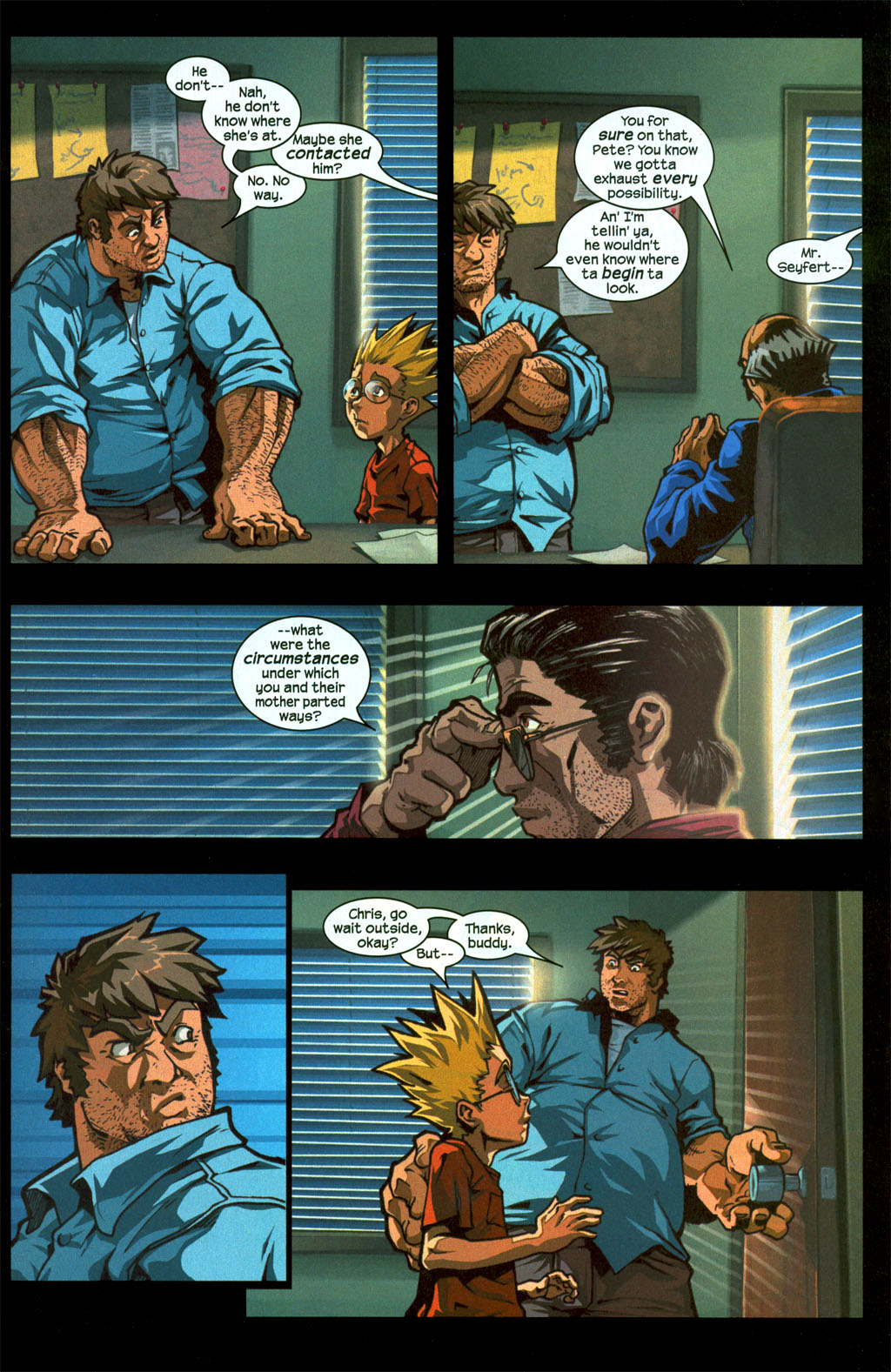 Read online Sentinel (2006) comic -  Issue #1 - 12