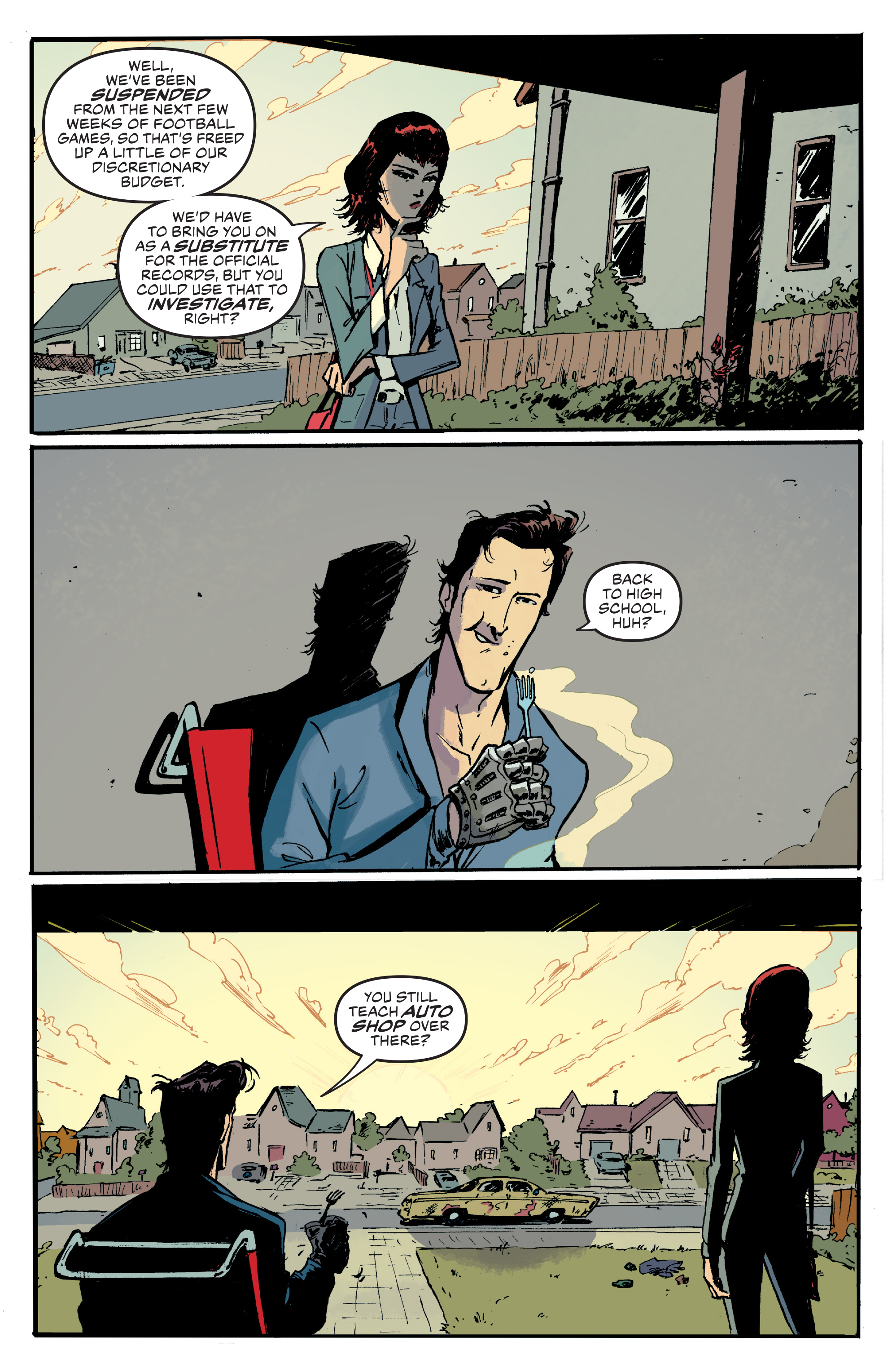 Read online Ash Vs. The Army of Darkness comic -  Issue #0 - 19