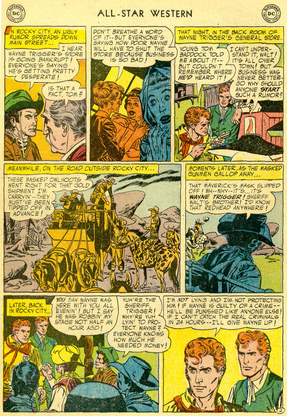All-Star Western (1951) issue 82 - Page 4
