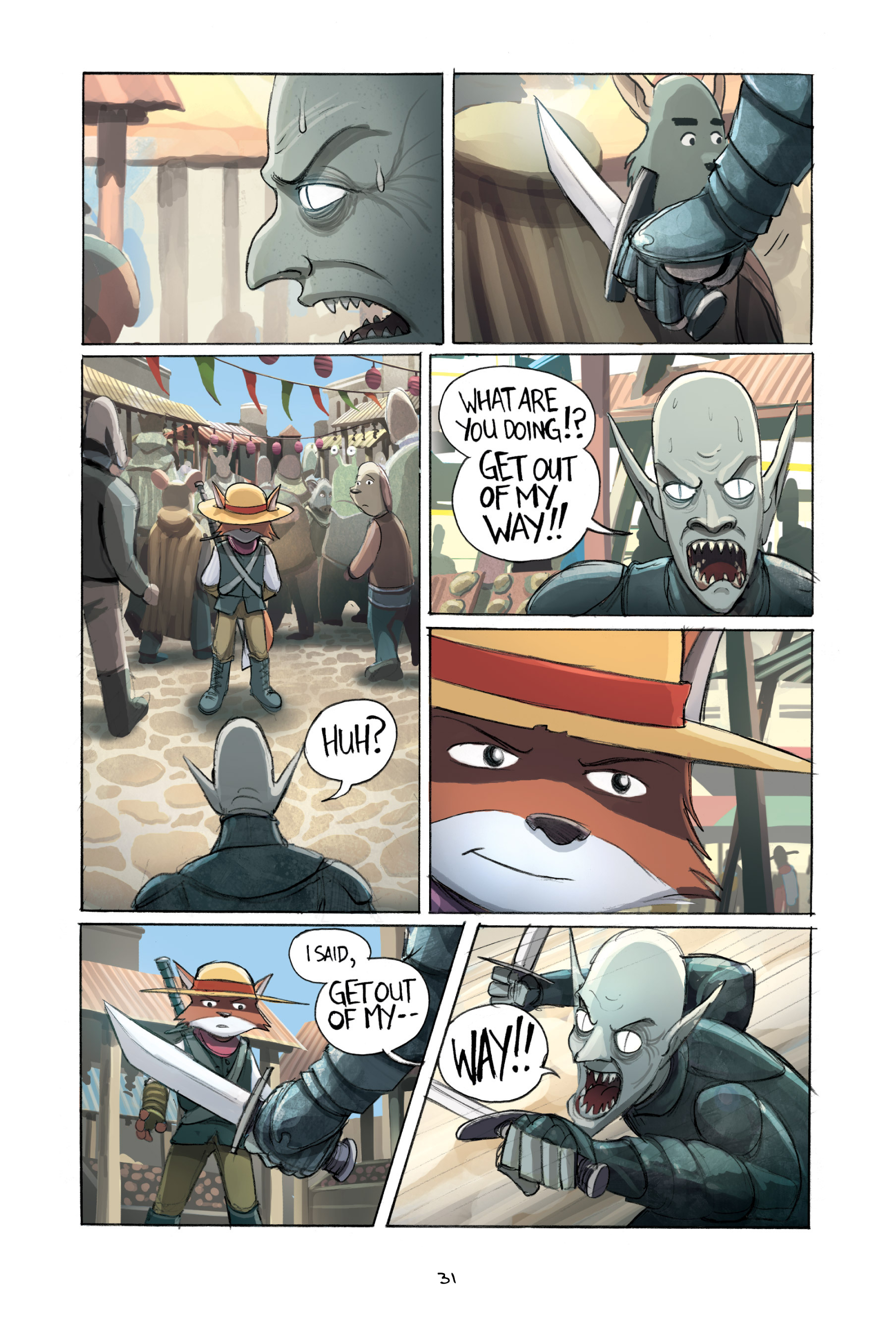 Read online Amulet comic -  Issue #2 - 33