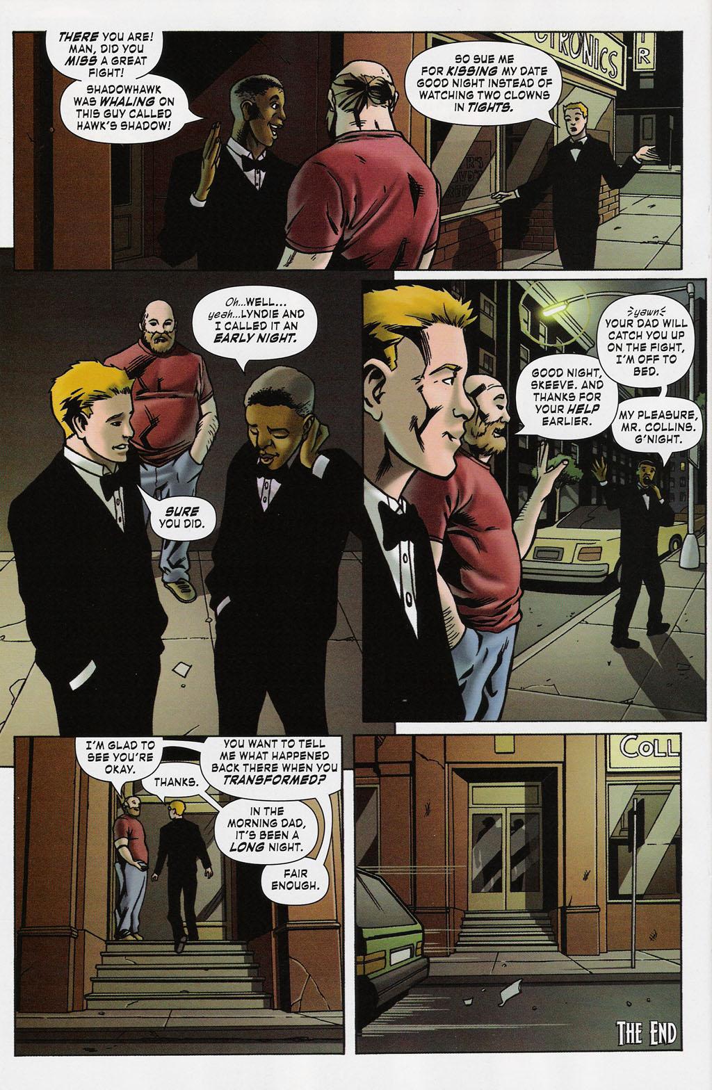 Read online ShadowHawk (2005) comic -  Issue #4 - 23