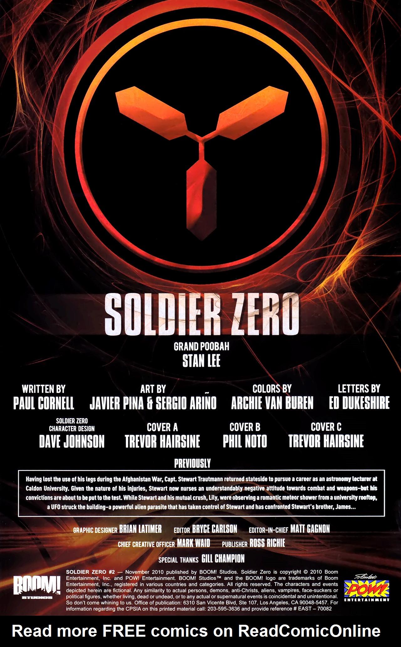 Read online Soldier Zero comic -  Issue #2 - 3