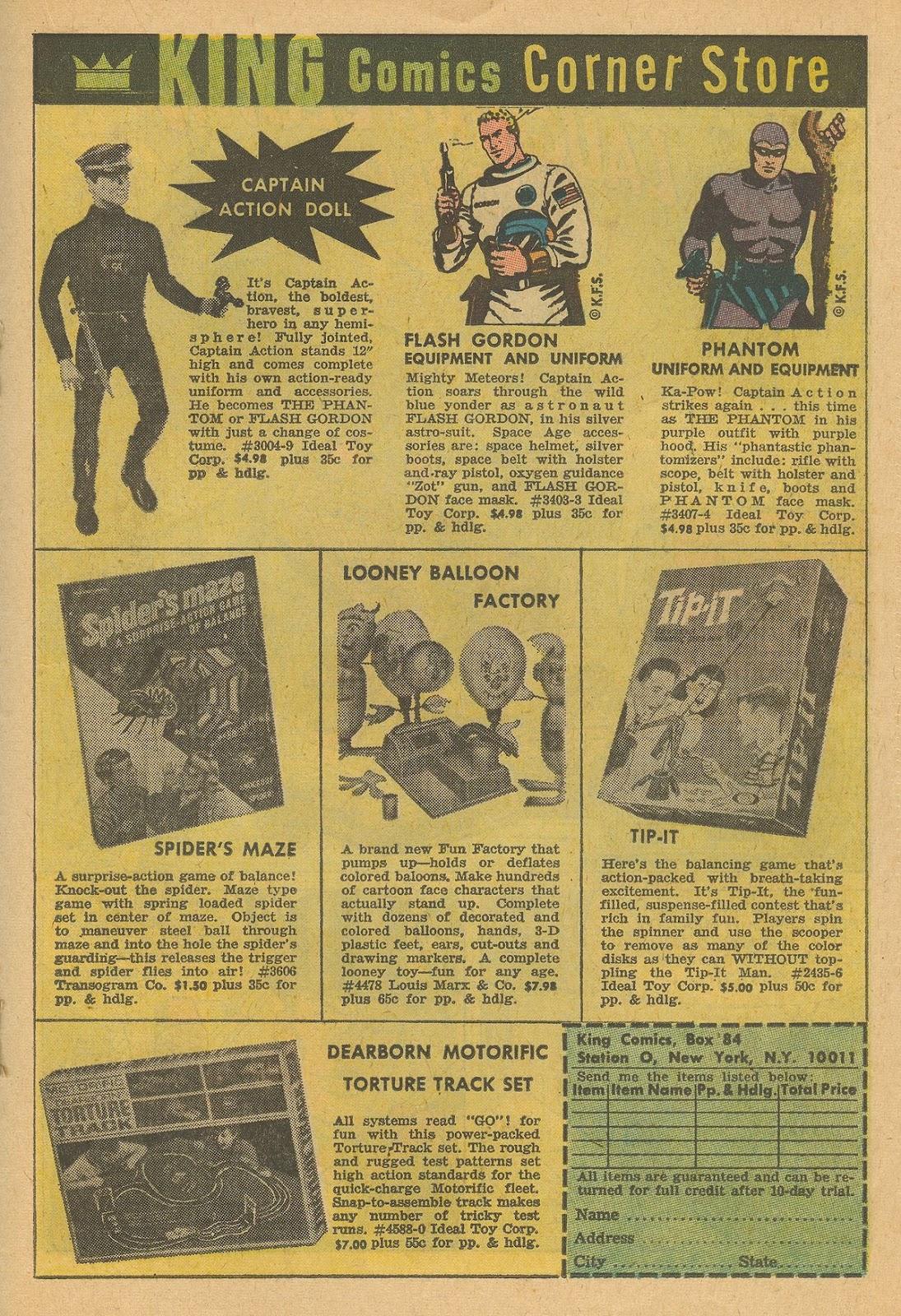 Flash Gordon (1966) issue 2 - Page 19