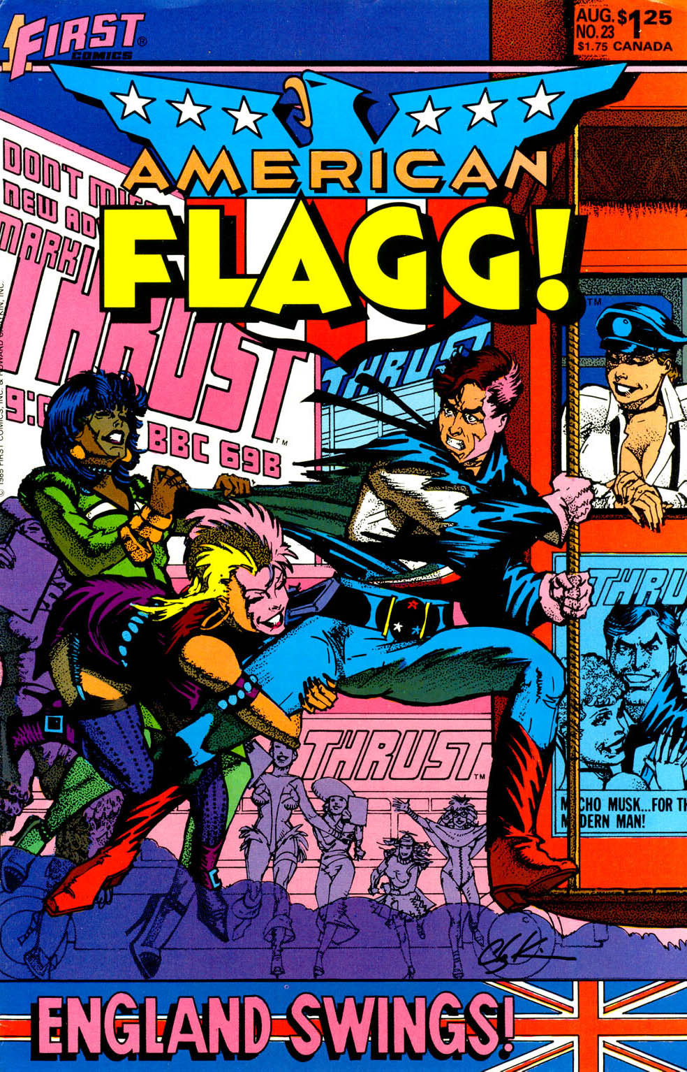 American Flagg! issue 23 - Page 1