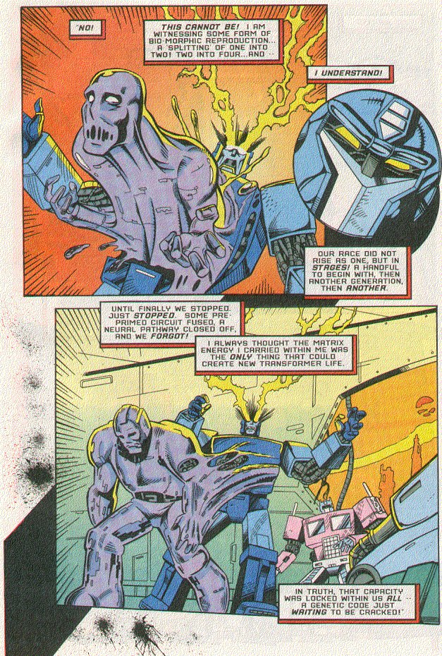 Read online Transformers: Generation 2 comic -  Issue #5 - 14
