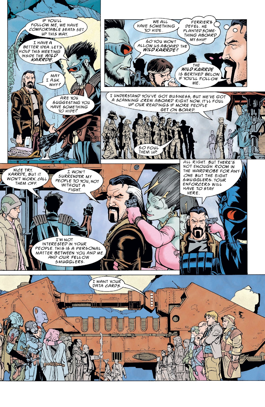 Read online Star Wars Legends: The New Republic - Epic Collection comic -  Issue # TPB 4 (Part 4) - 77