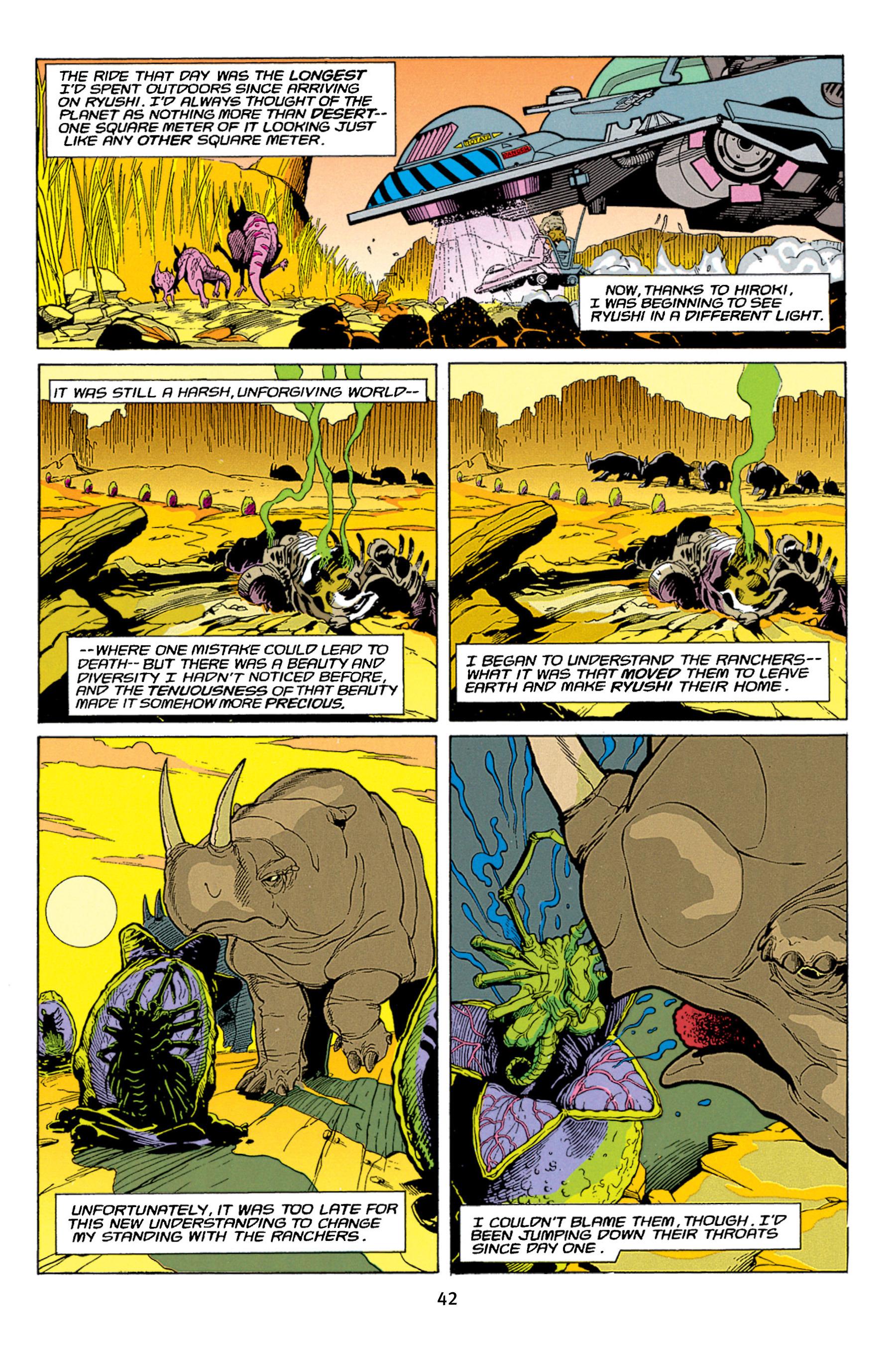 Read online Aliens vs. Predator Omnibus comic -  Issue # _TPB 1 Part 1 - 42